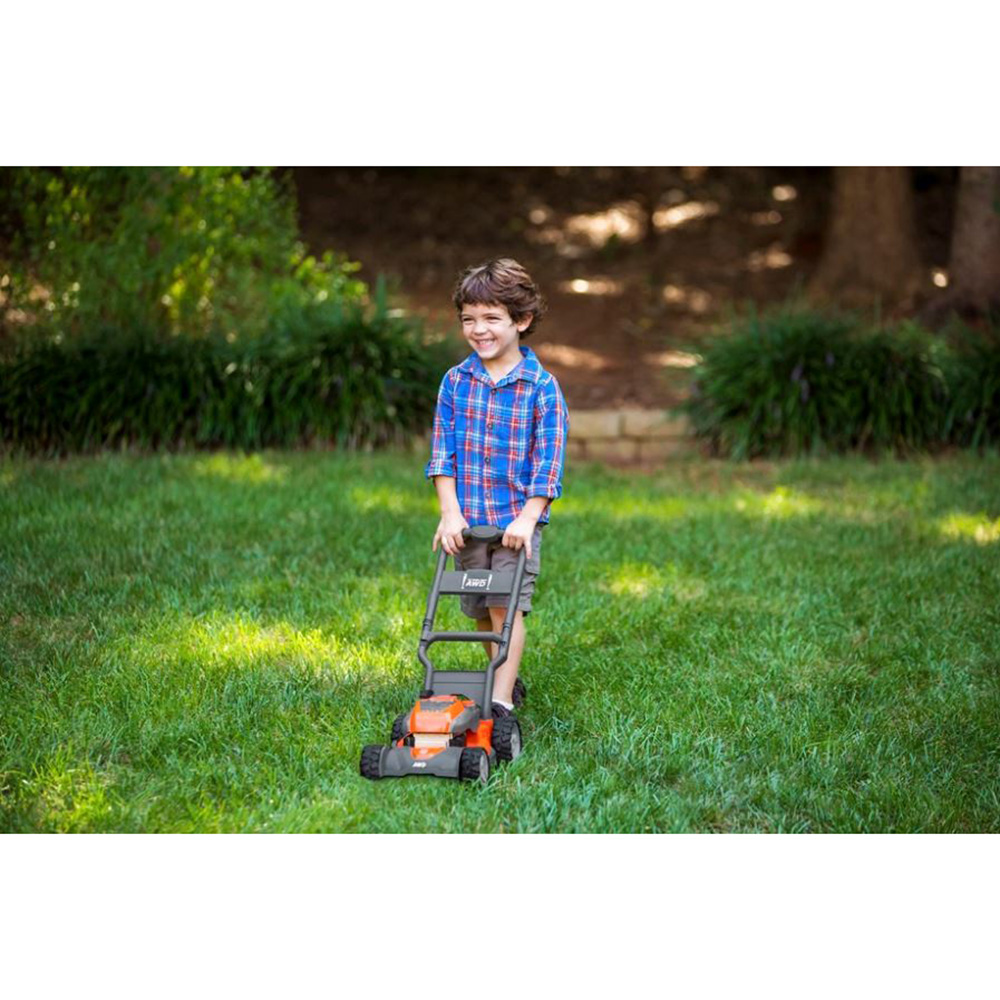 Husqvarna Battery Powered Kids Toy Lawn Mower For Ages 3