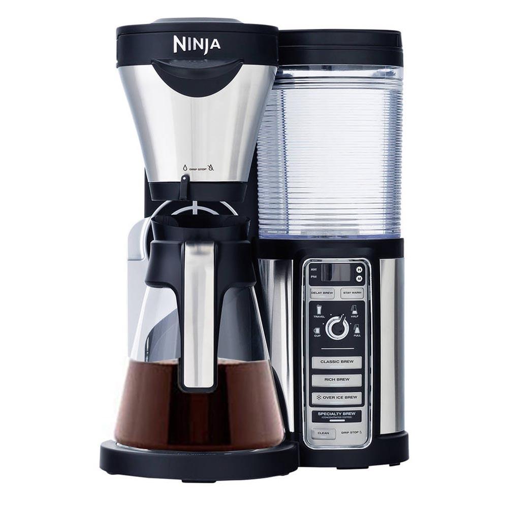 Ninja Coffee Grinder ~ Ninja coffee bar carafe frother grinder cups mugs