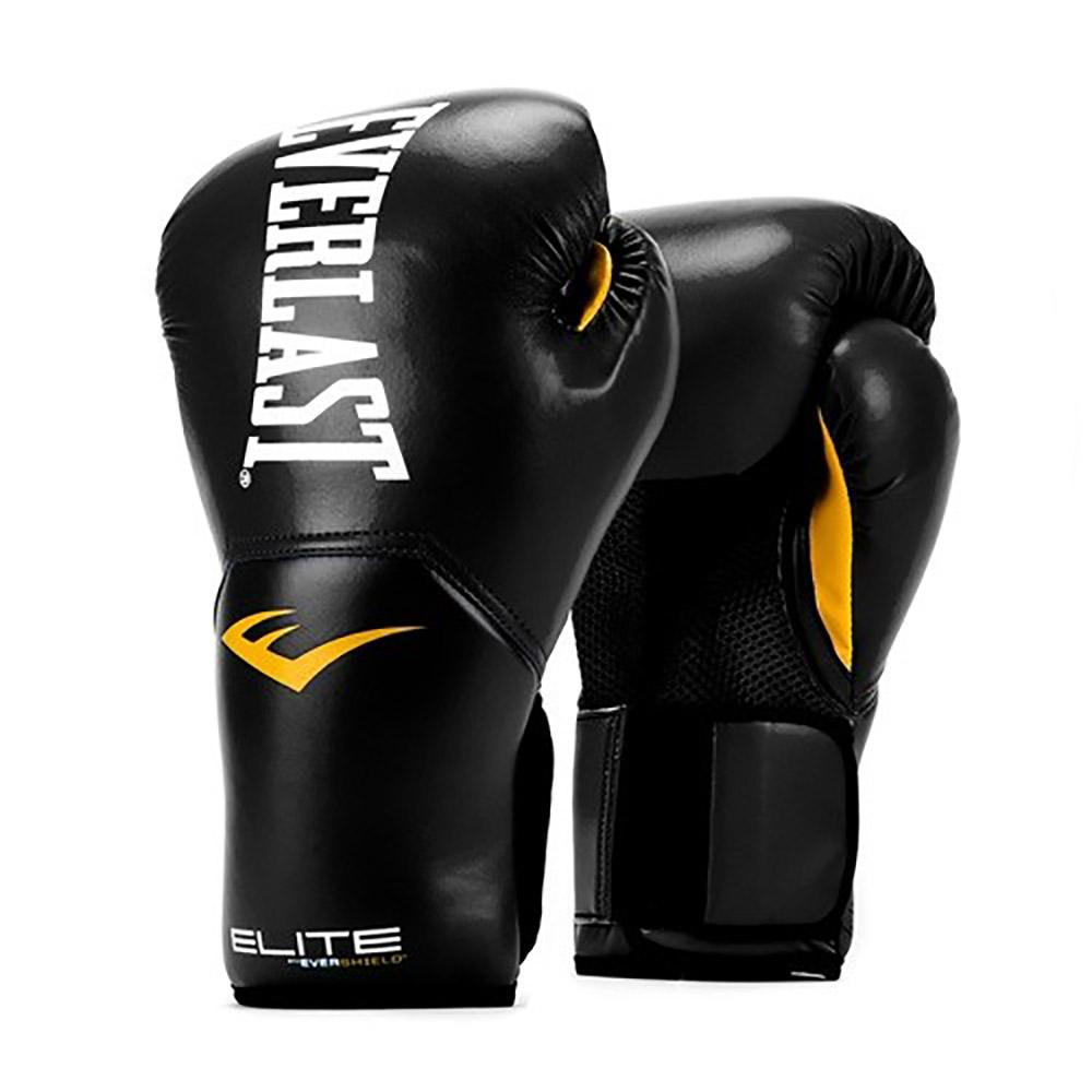 Everlast Elite Pro Style Leather Training Boxing Gloves