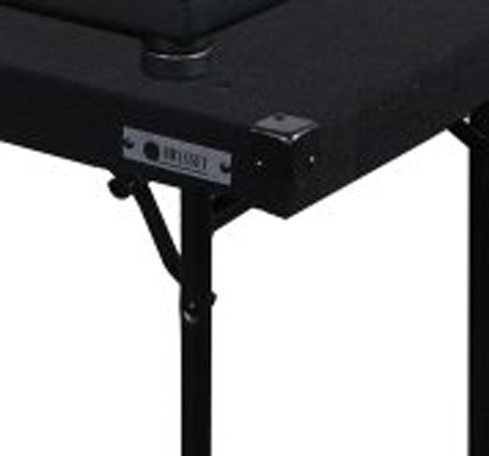 ODYSSEY CTBC2060 Carpeted Portable Pro DJ Work Table w Adjustable
