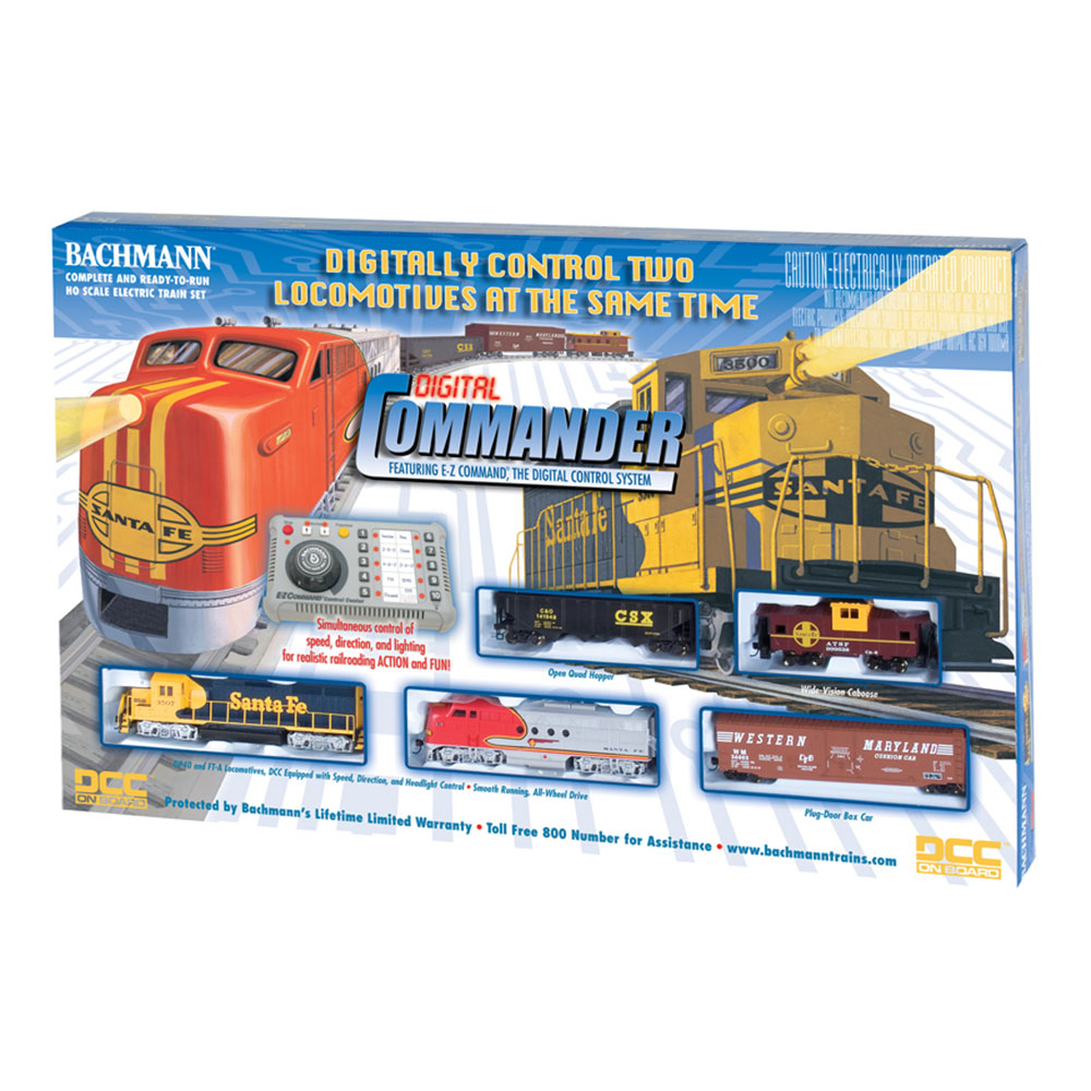 bachmann trains ho scale digital commander ready to run