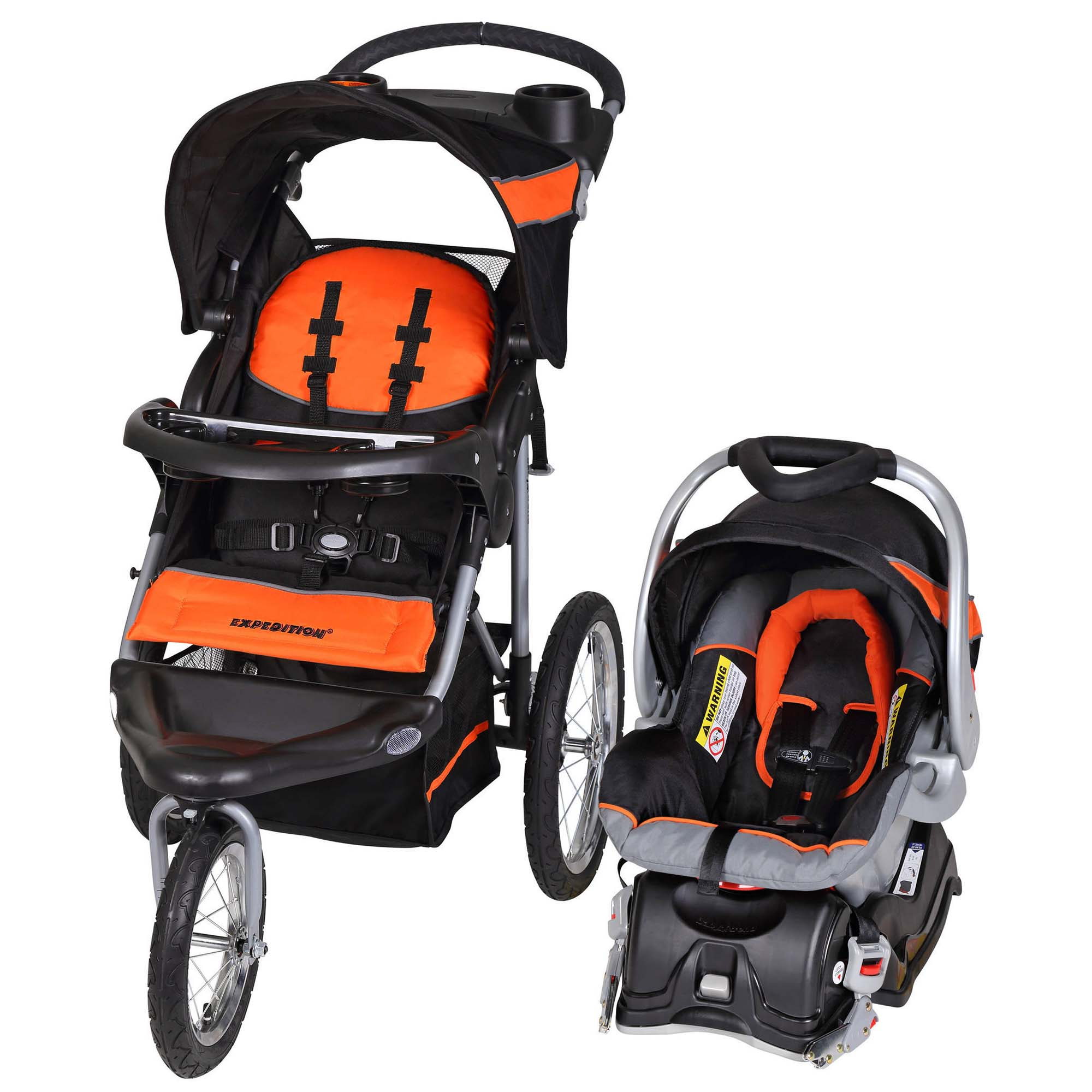 Travel Car Seat: Baby Trend Expedition Travel System With Stroller & Car