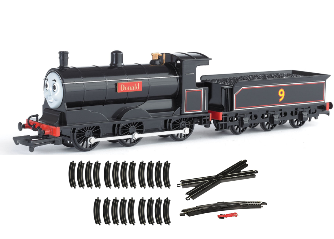 how to build a figure 8 train track