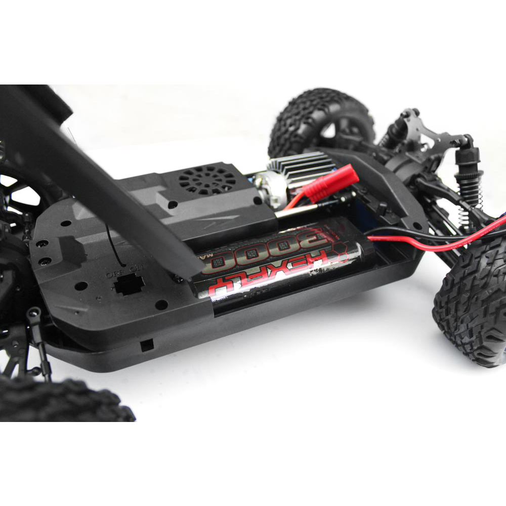 Redcat racing blackout xbe 1 10 scale brushed electric rc for Rc electric motor oil