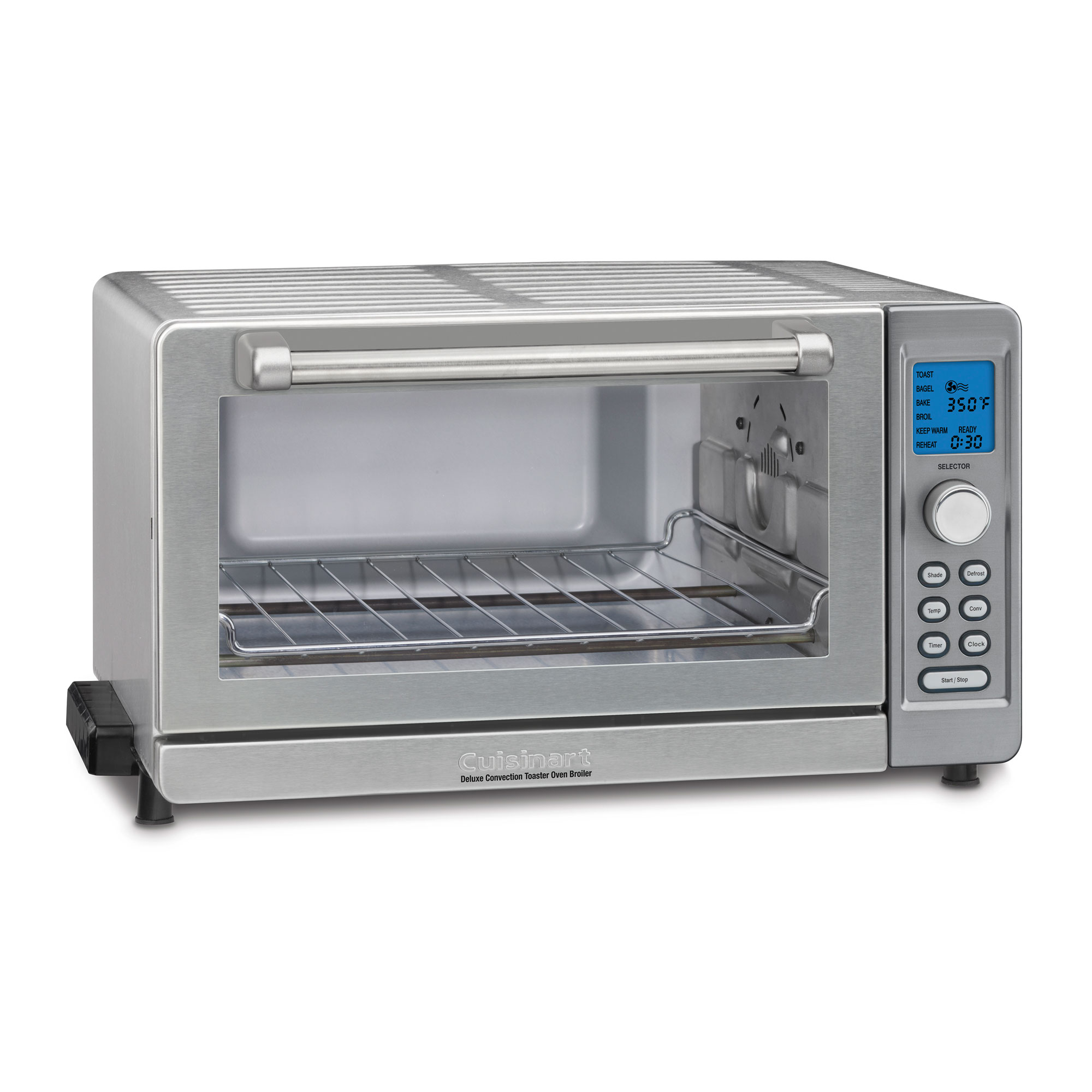 oven convection deluxe broiler kitchen dining tob dp stainless amazon steel cuisinart com toaster