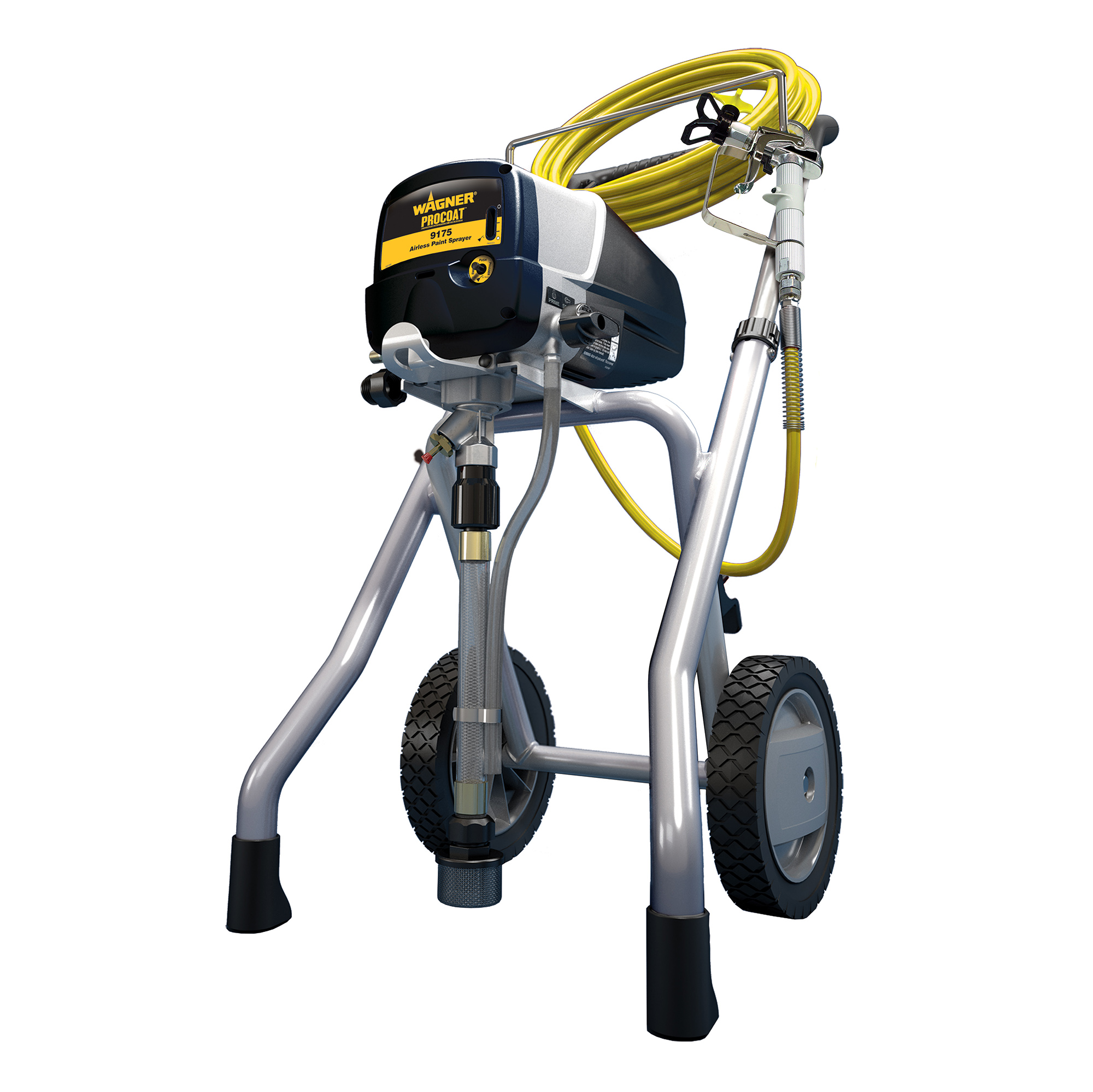 wagner procoat 9175 airless piston pump 3 4 hp 15 amp 3000 psi paint sprayer 24964182091 ebay. Black Bedroom Furniture Sets. Home Design Ideas