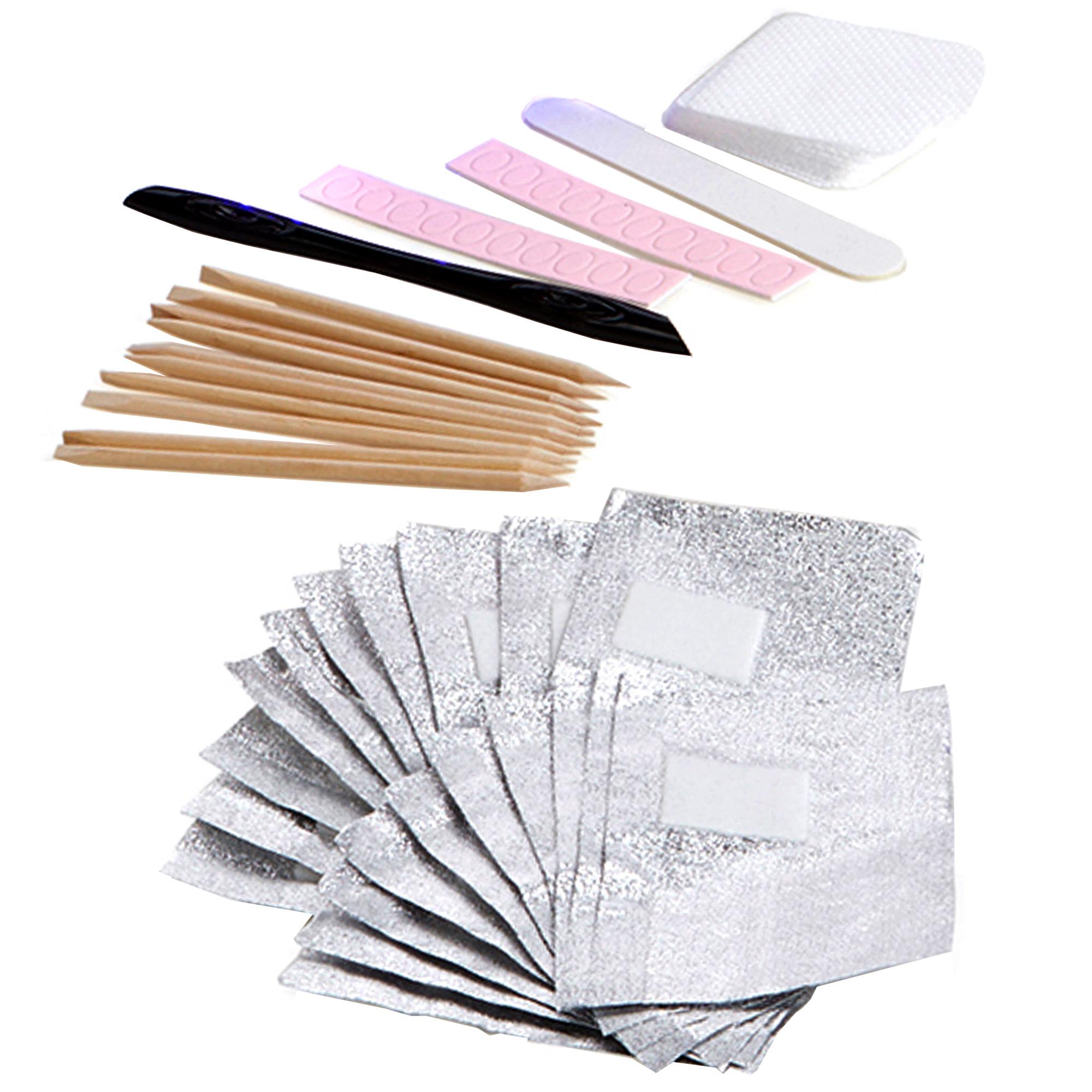 Nail Polish Package: Red Carpet Manicure Pro 45 LED Gel Nail Polish Kit Soak