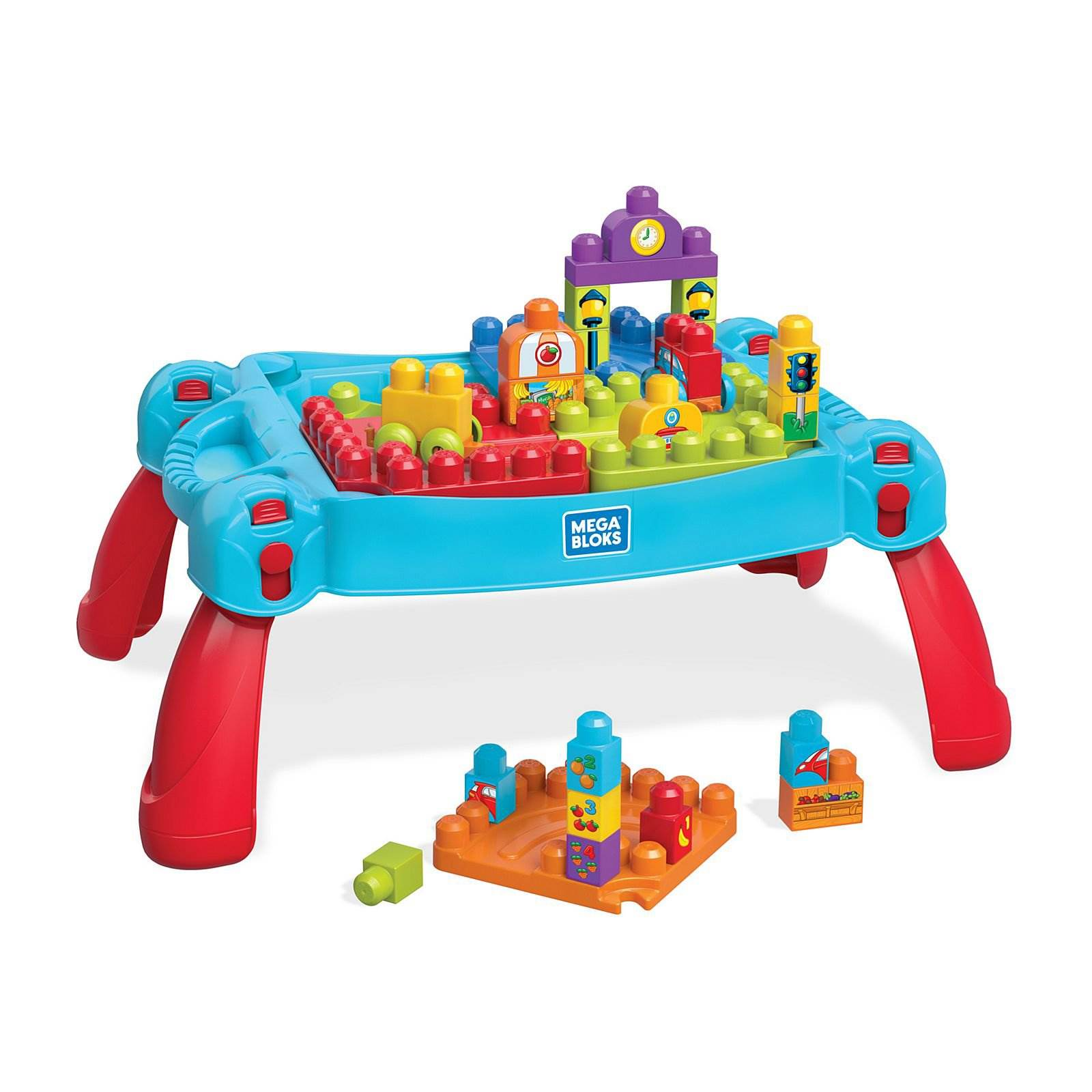 Mega Bloks FGV05 Construire /& Learn Table