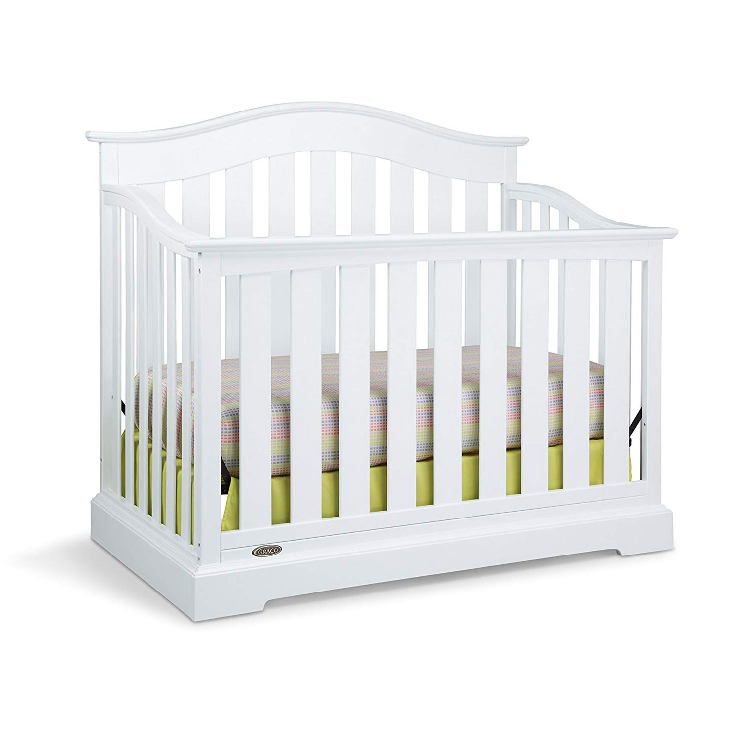 Details about graco westbrook durable 4 in 1 convertible baby toddler child crib daybed white