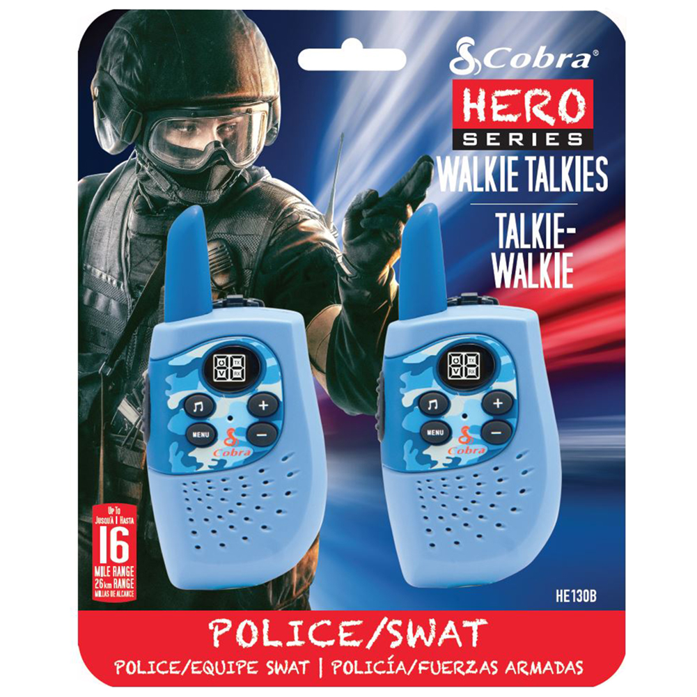 Kids walkie talkies police