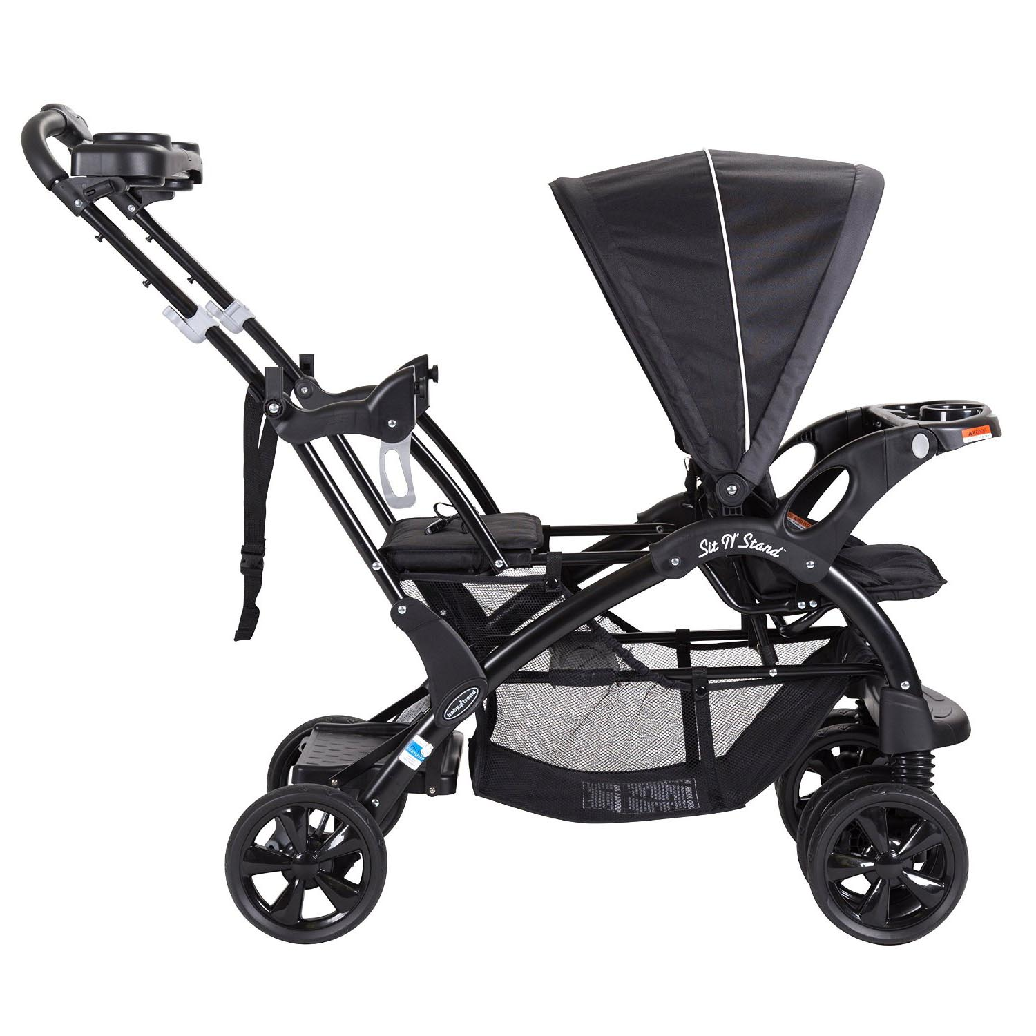 Baby Trend Double Sit N' Stand Toddler and Baby Stroller ...