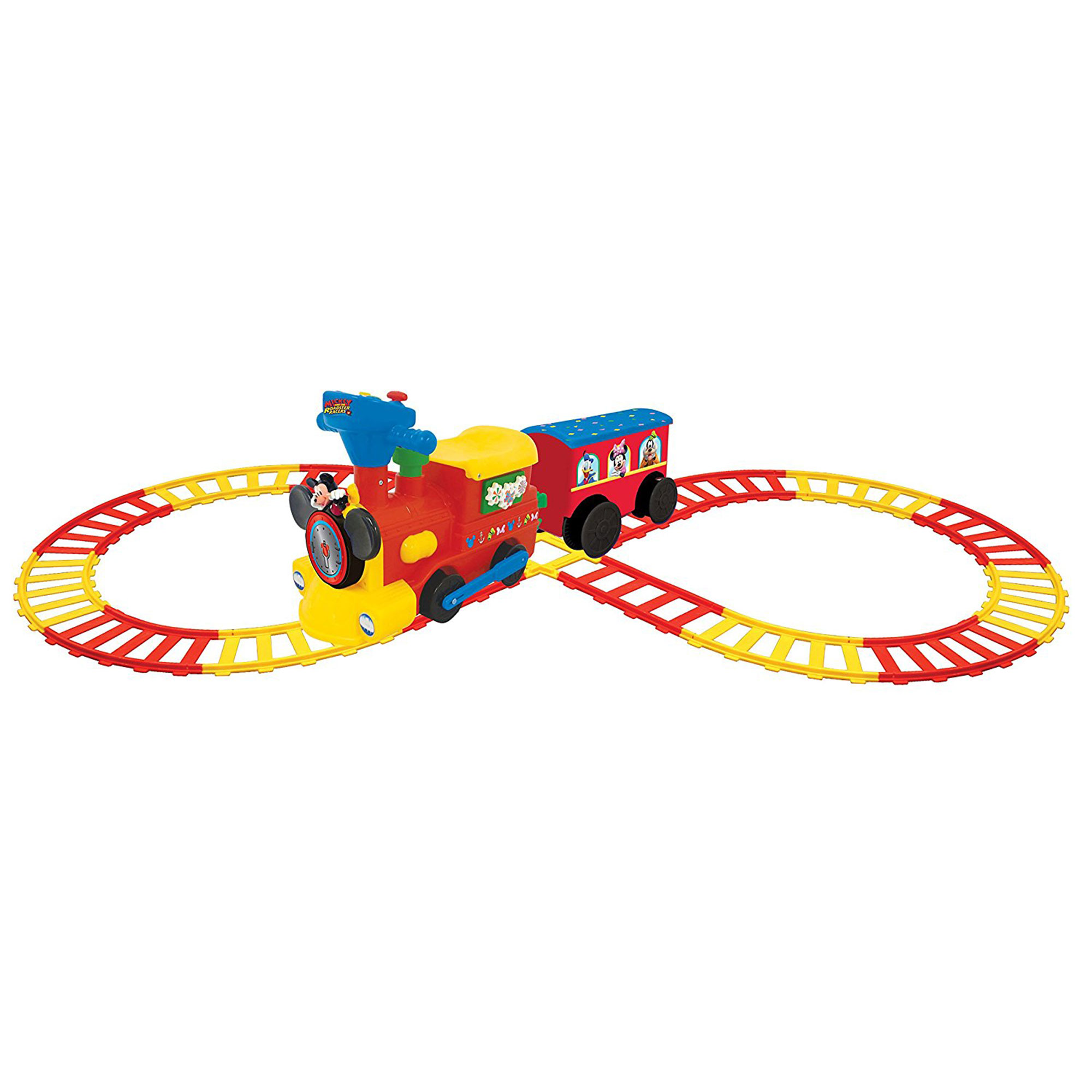Kiddieland Disney Mickey Mouse Battery Powered Ride On Train W