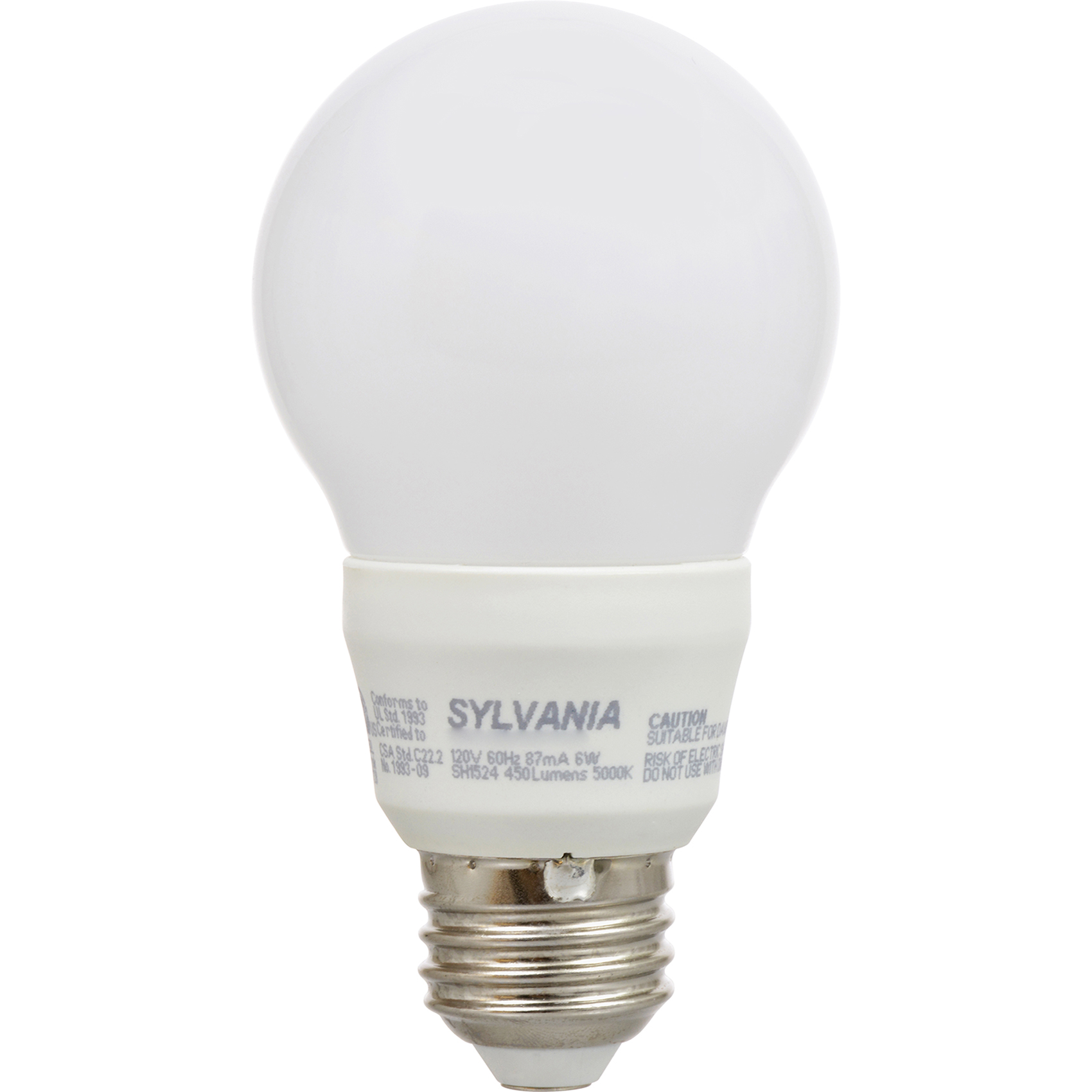 Sylvania A19 40w 120v E26 Non Dimmable White Frosted Led Light Bulb 12 Pack Ebay