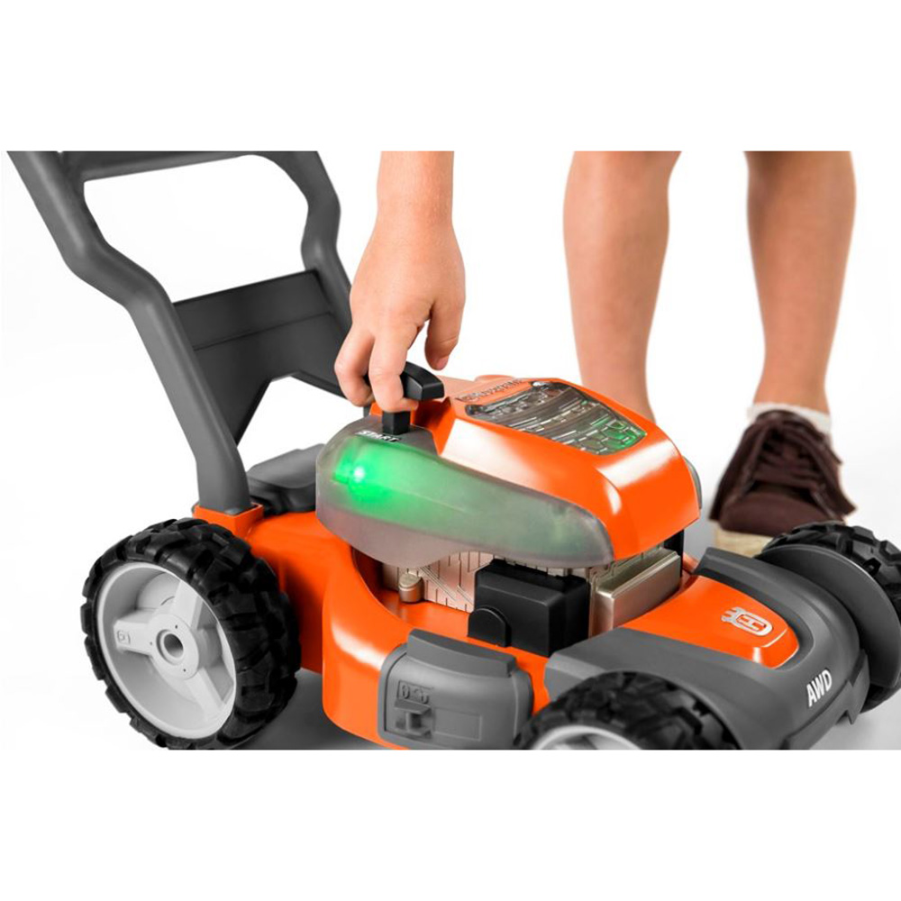 Toy Lawn Mower : Husqvarna battery powered kids toy lawn mower for ages