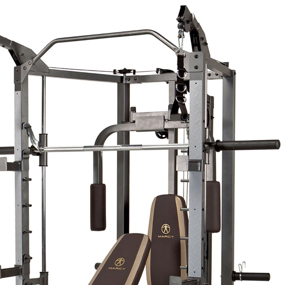 Marcy combo smith heavy duty total body strength home gym for Home designs by marcy
