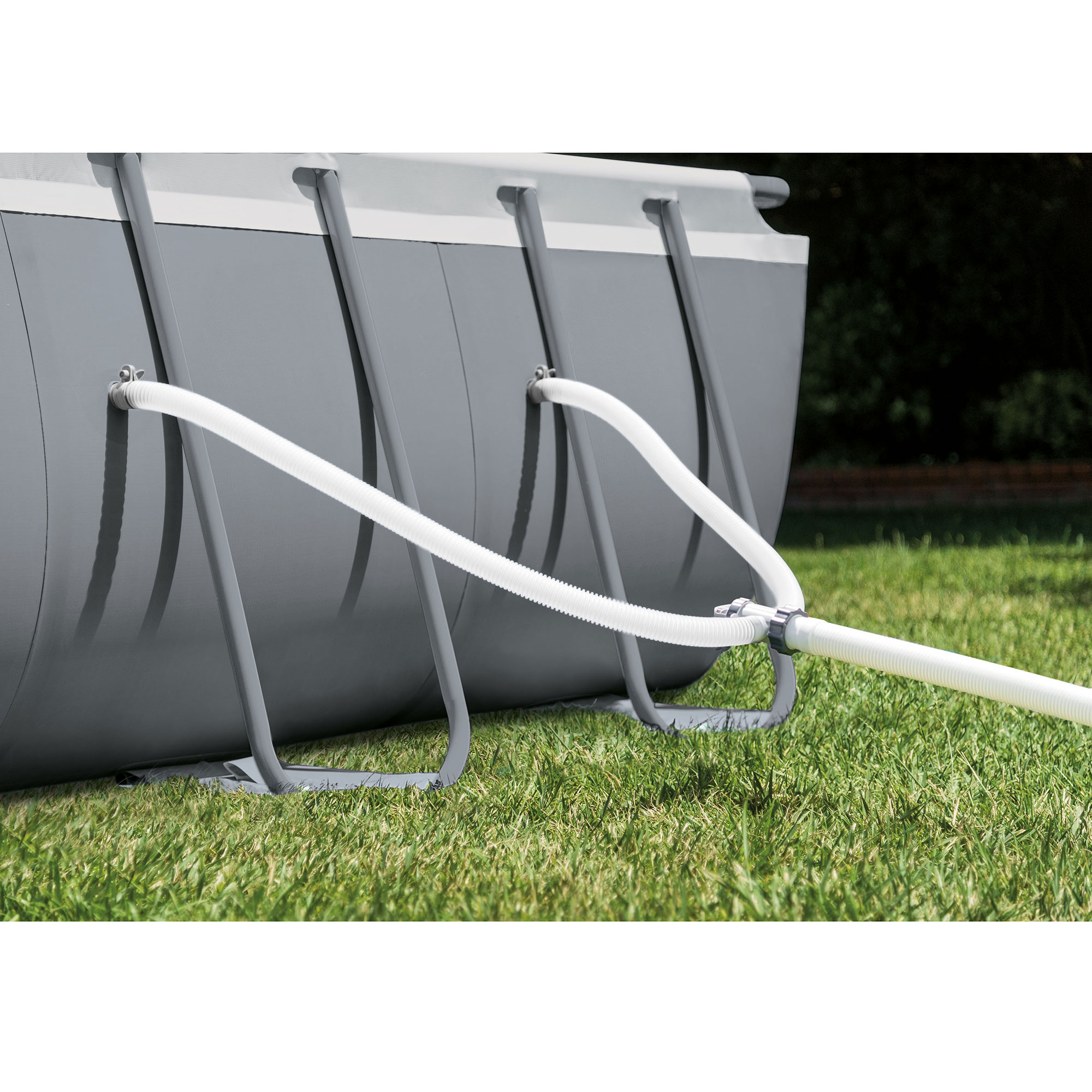 Intex 32 ft x 16 ft x 52 inch ultra xtr rectangular - Ultra frame rectangular swimming pool ...