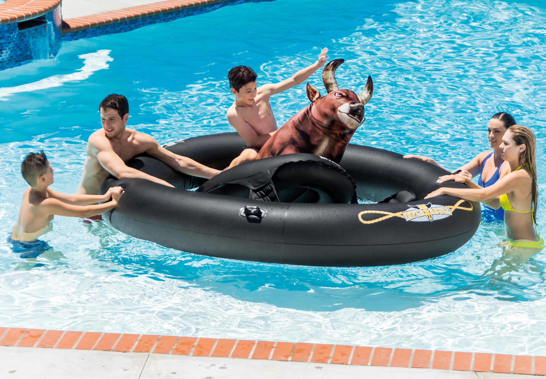 Intex Inflatabull Bull Riding Inflatable Swimming Pool Lake Fun