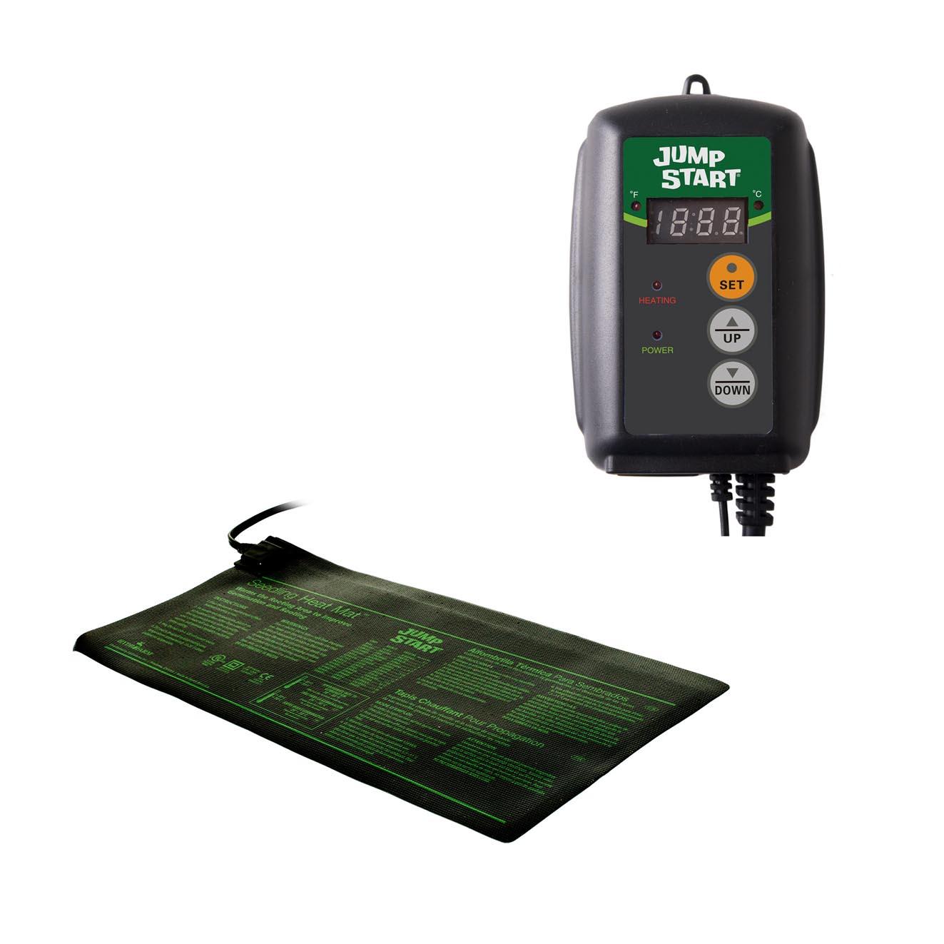 7.3 Watt UL Certified Seedling Heat Mat, Jump Start MT10004 Waterproof Durable