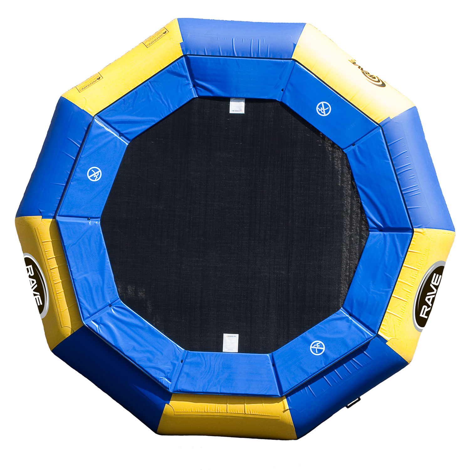 Rave Sport Aqua Jump 120 Water Bouncer Trampoline With