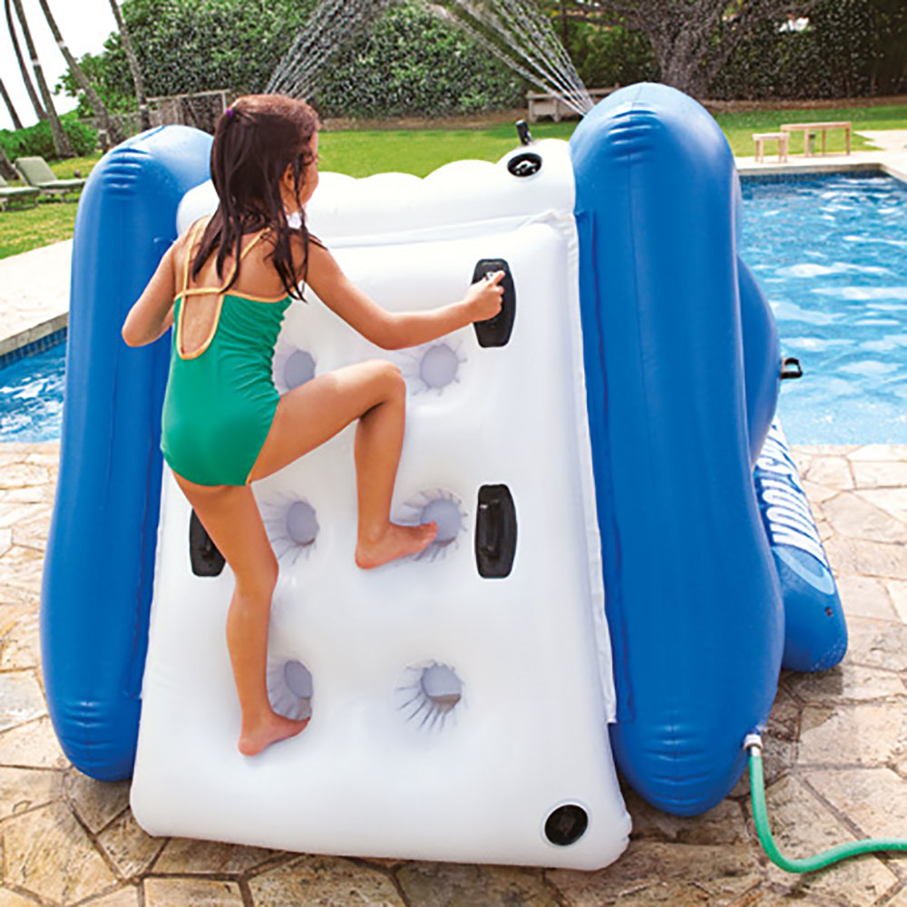 Inflatable Pool Slide Intex intex kool splash inflatable swimming pool water slide accessory