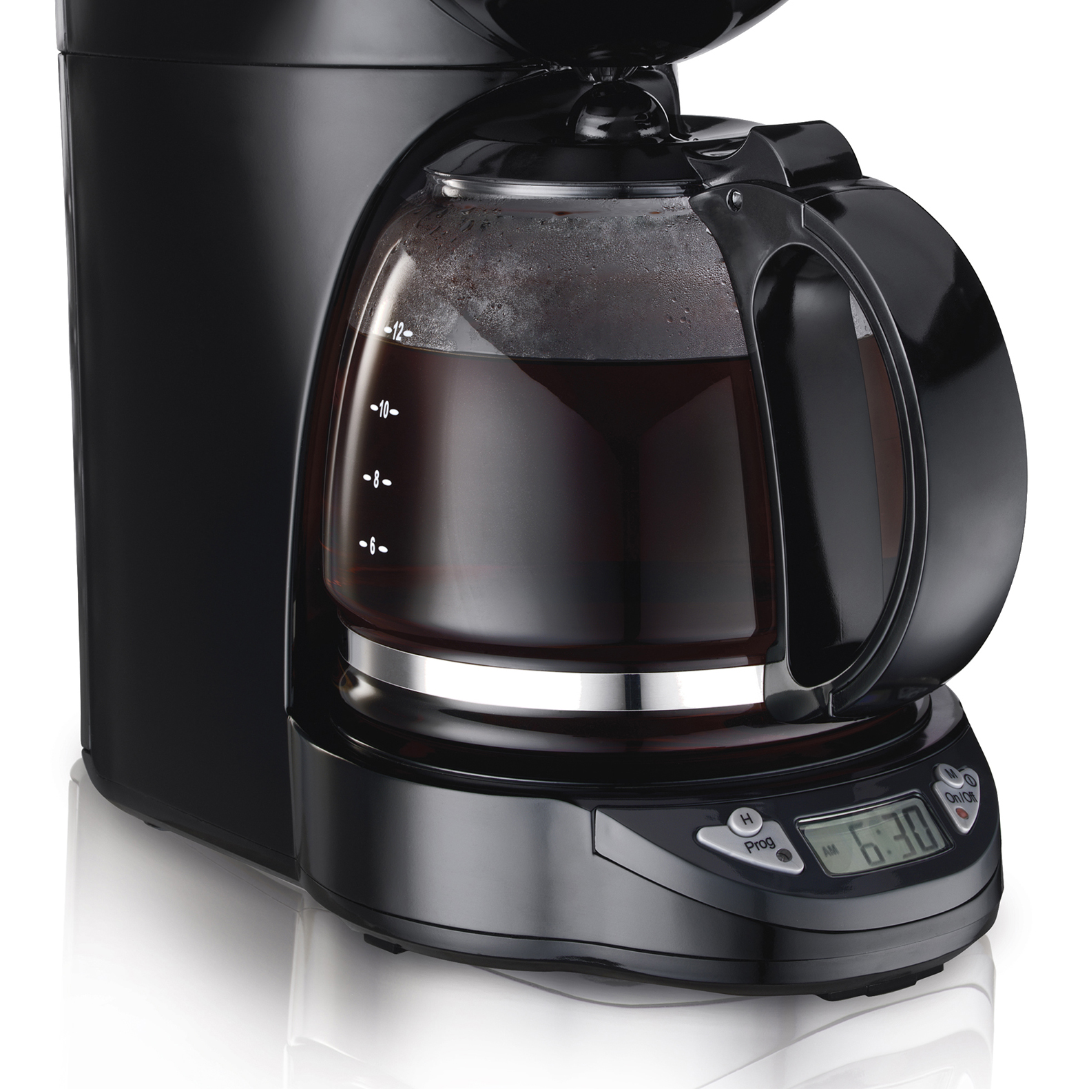 proctor silex 12 cup compact programmable coffee maker. Black Bedroom Furniture Sets. Home Design Ideas
