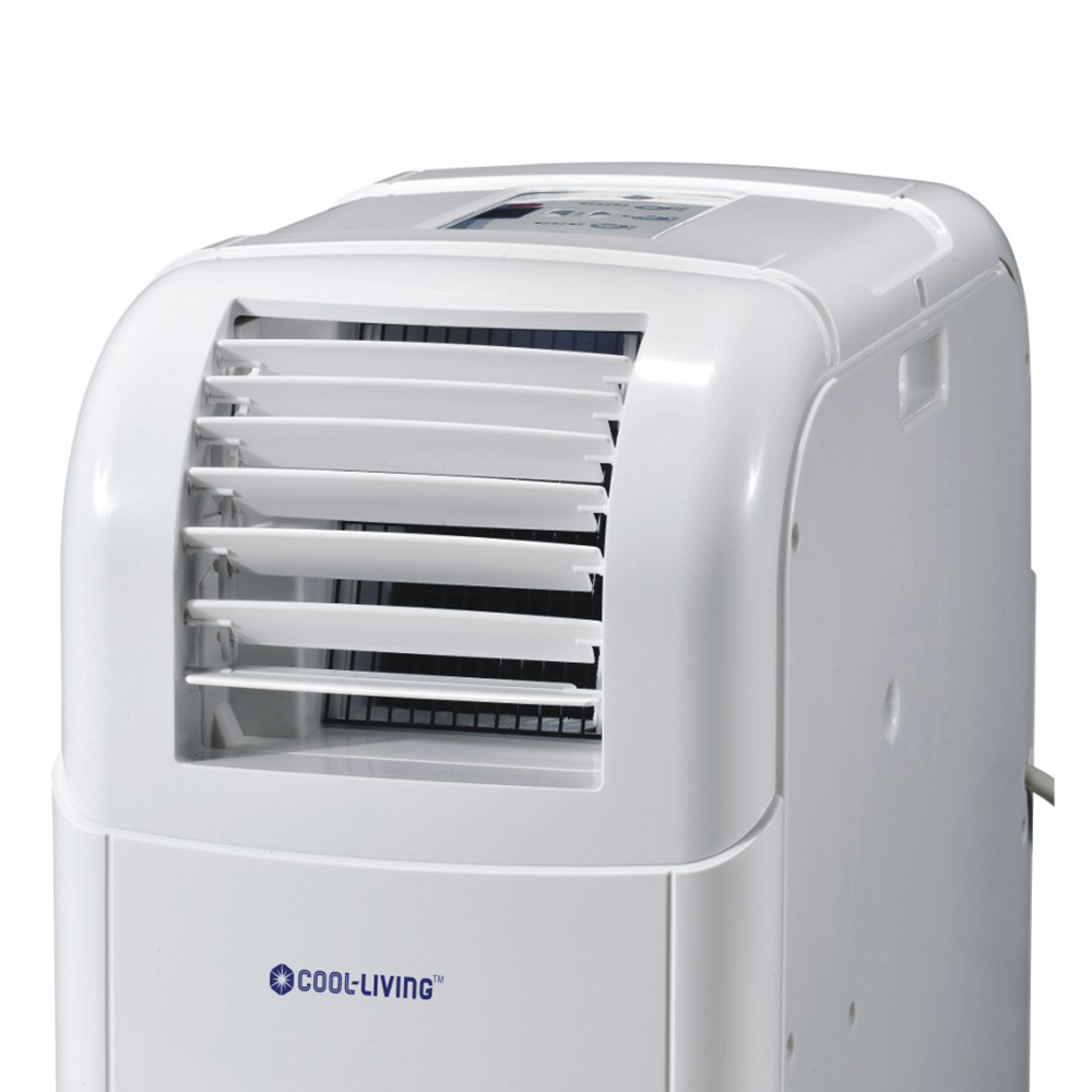 Cool living 12000 btu ac portable room cooling air for Small room portable air conditioners