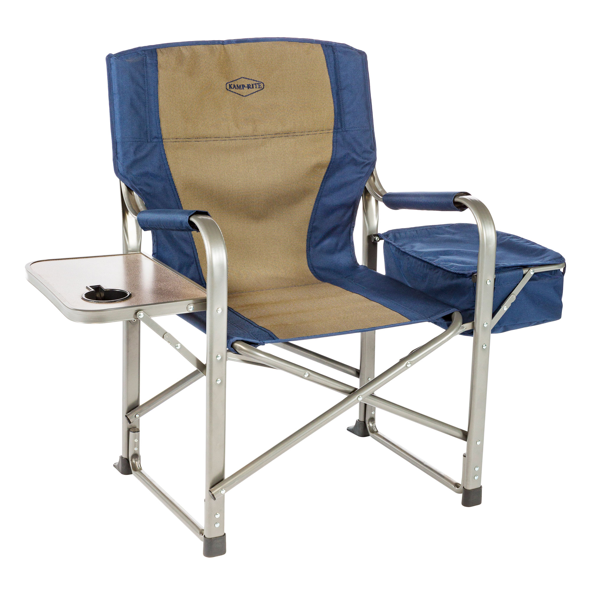 Kamp Rite CC118 Outdoor Camp Folding Director s Chair with Side