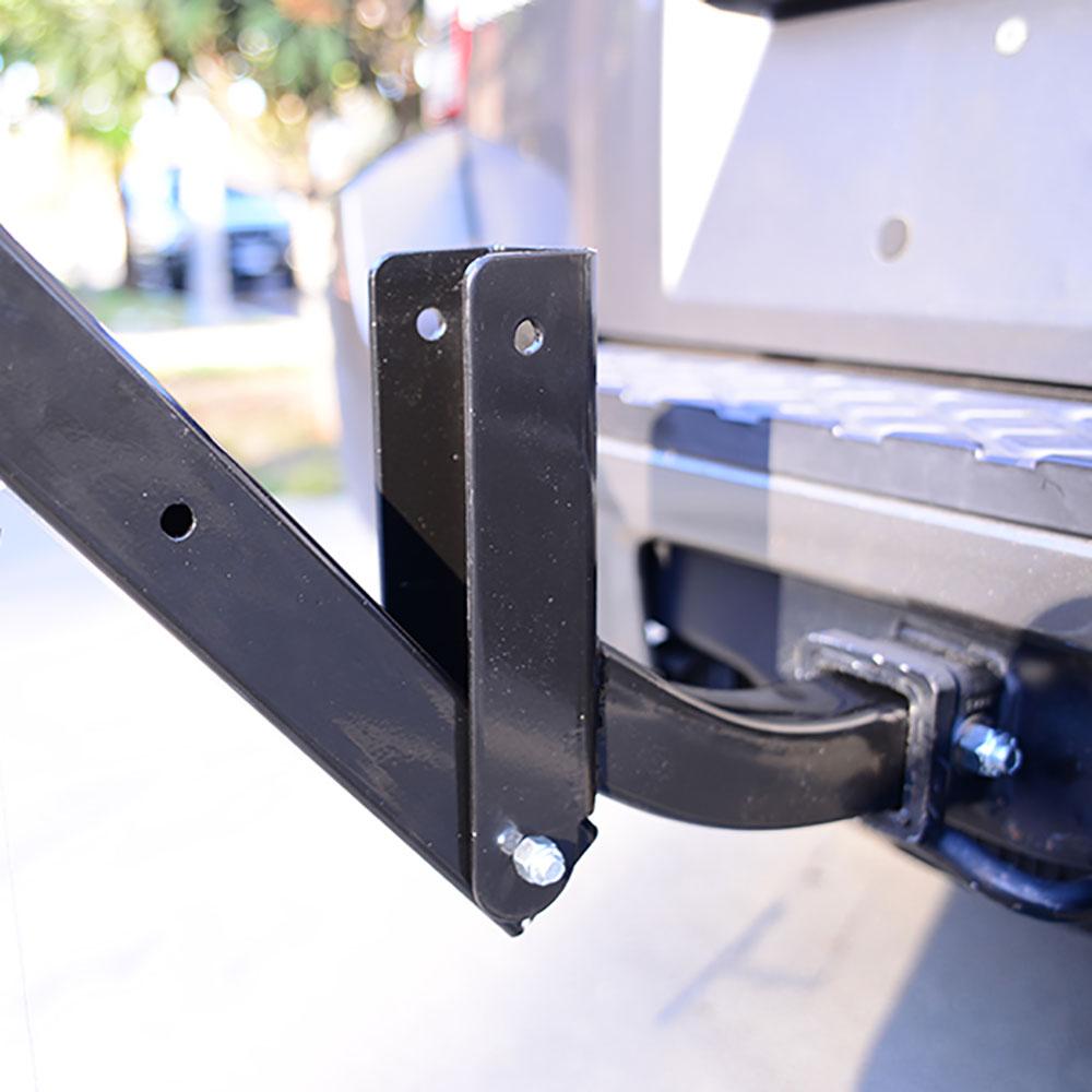 Allen Sports Deluxe 4 Bike Storage Mount Carrier Rack Hitch for Car Back Bumper