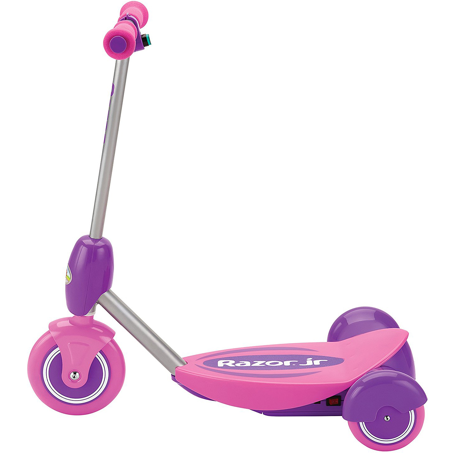 razor junior lil 39 e 2 mph tripod 6v battery electric scooter for kids 3 pink ebay. Black Bedroom Furniture Sets. Home Design Ideas