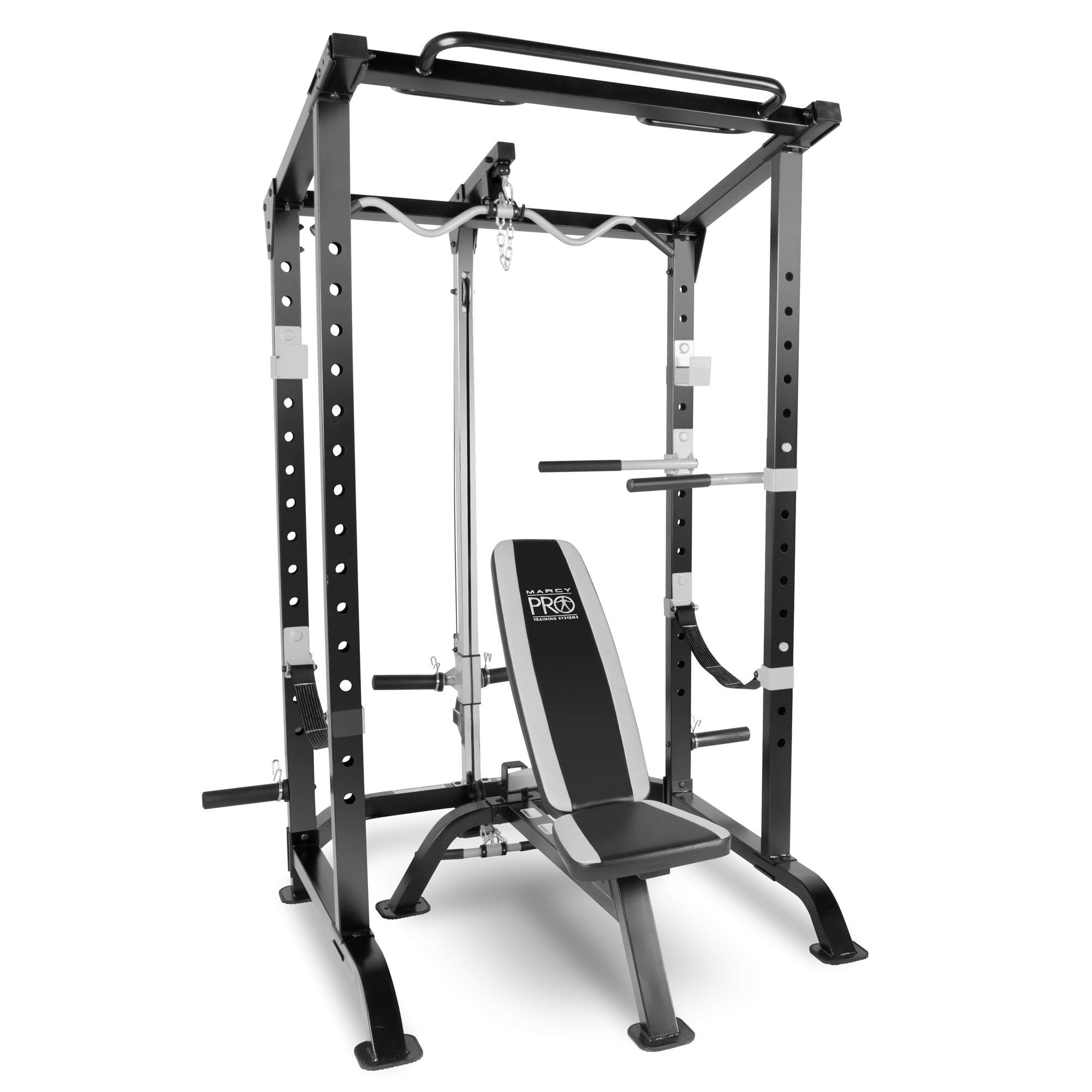 Marcy Pro Full Cage And Bench System Mwm 4484