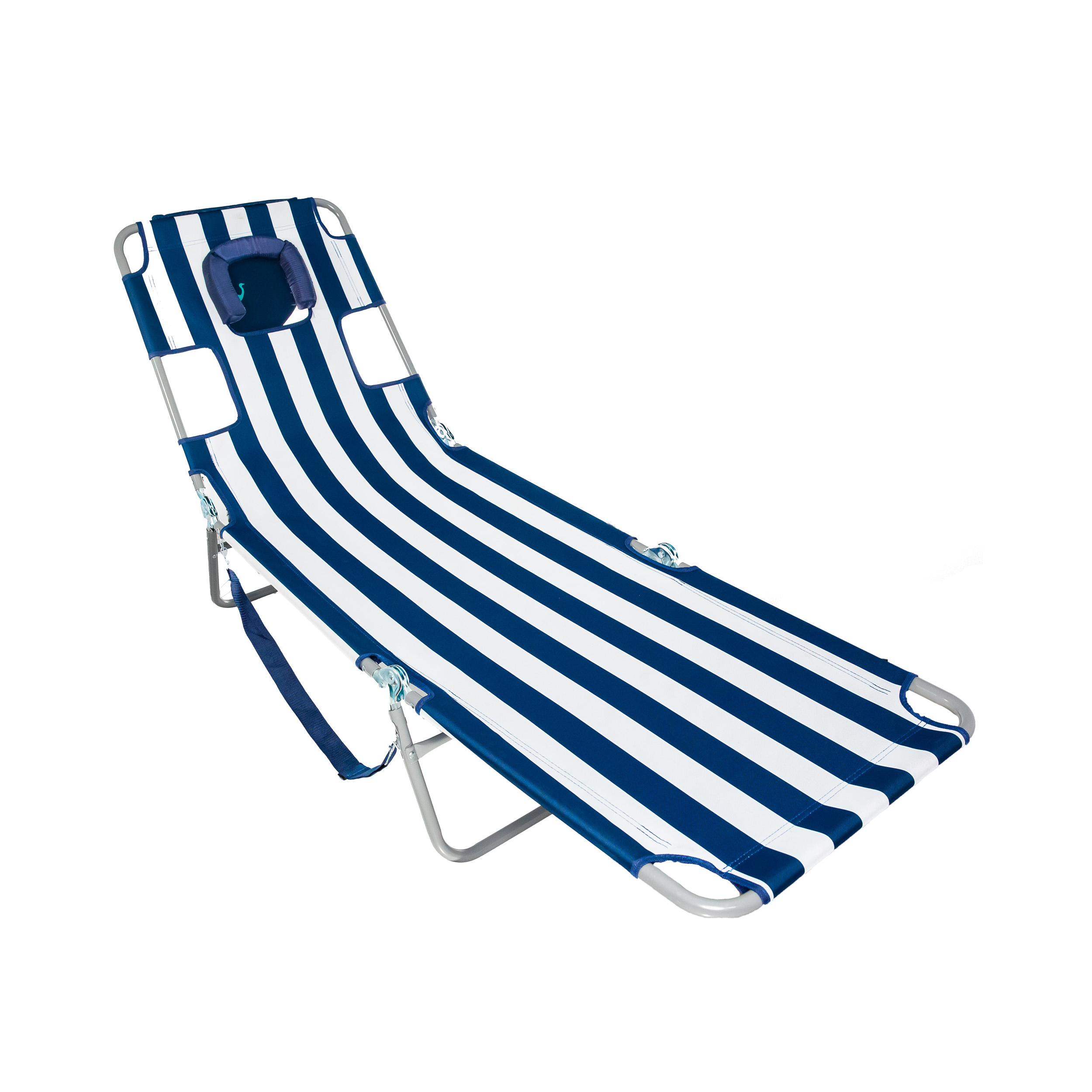 Strange Details About Ostrich Chaise Lounge Folding Portable Sunbathing Beach Chair Navy Stripes Dailytribune Chair Design For Home Dailytribuneorg