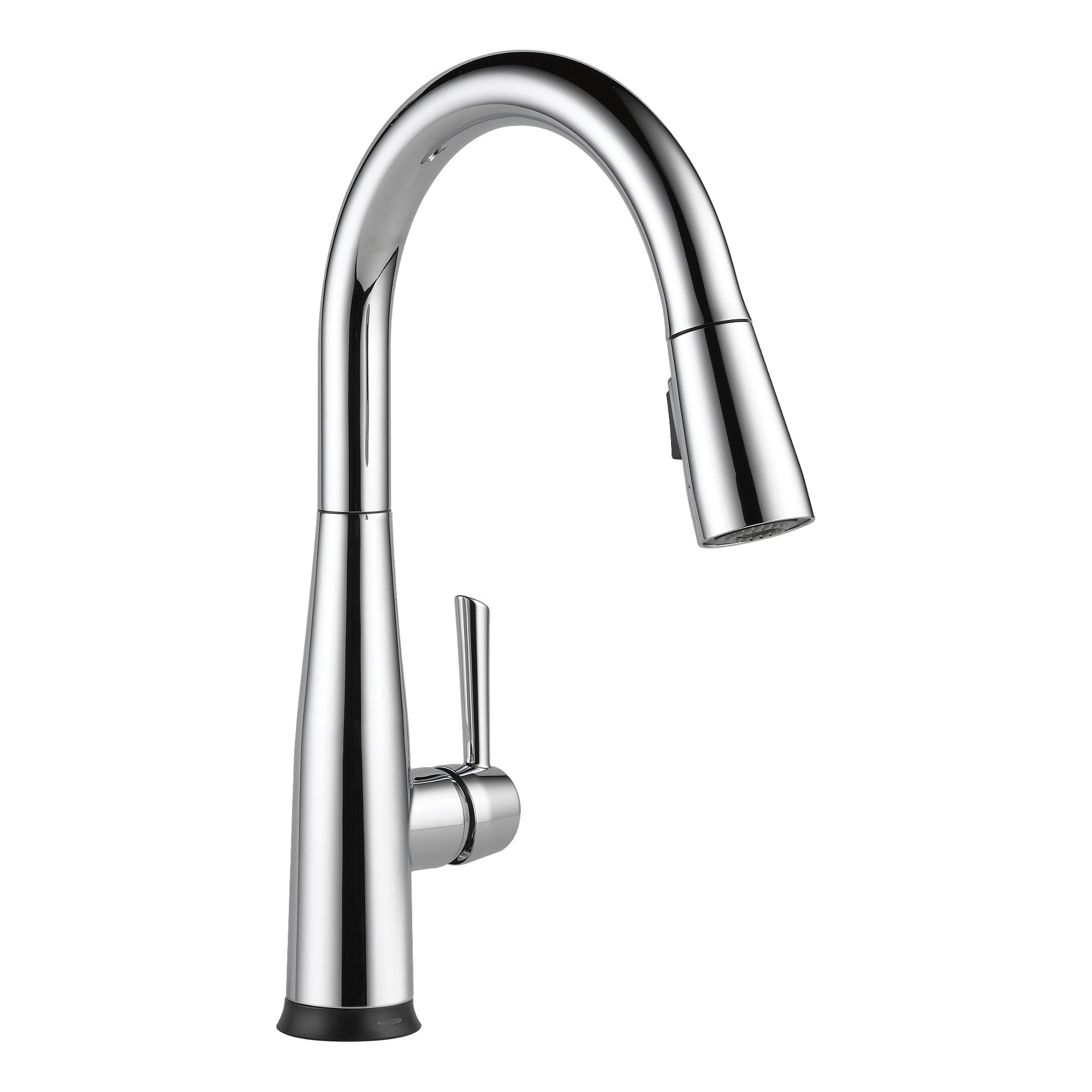 Delta Essa Single Handle Pull-Down Kitchen Faucet w/Touch2O ...