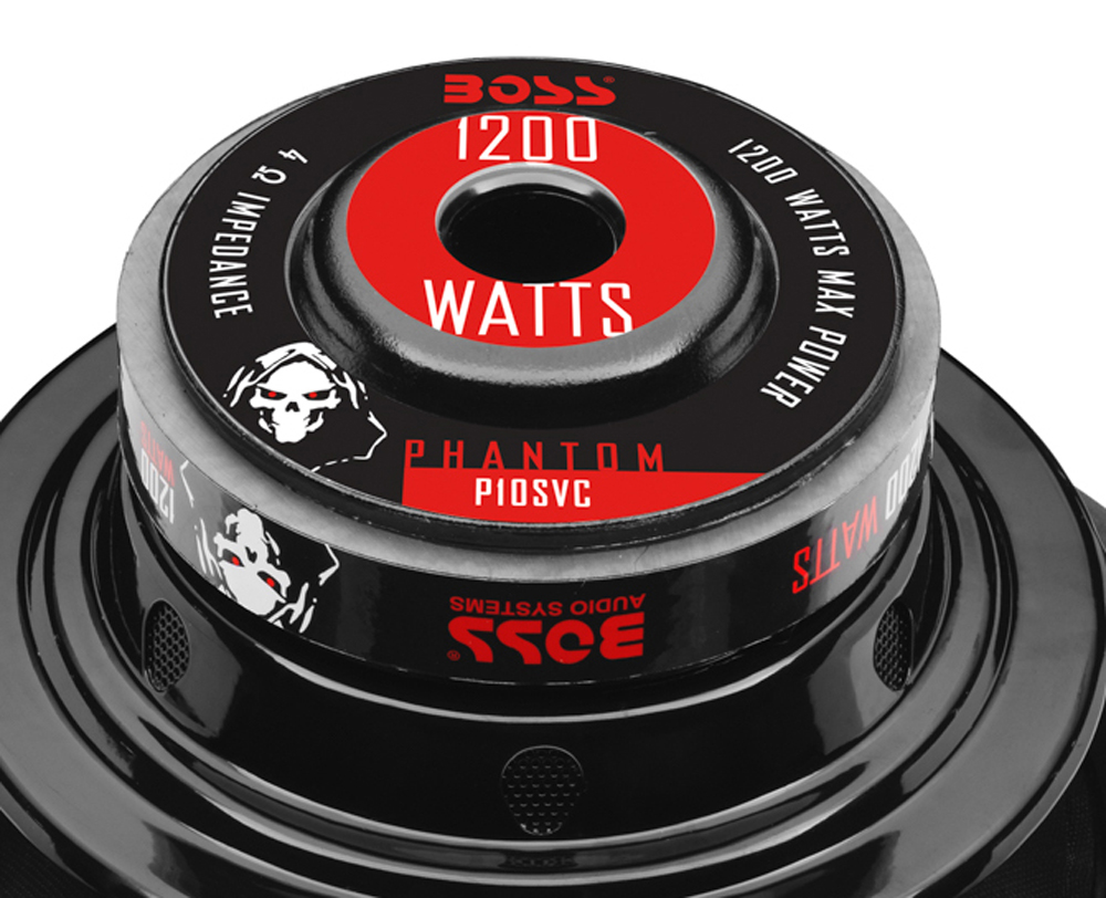 Boss Audio 10 Inch Single Voice Coil 4 Ohm 1200 Watt Subwoofer Sub Dual Wiring In Addition 1 Of 5