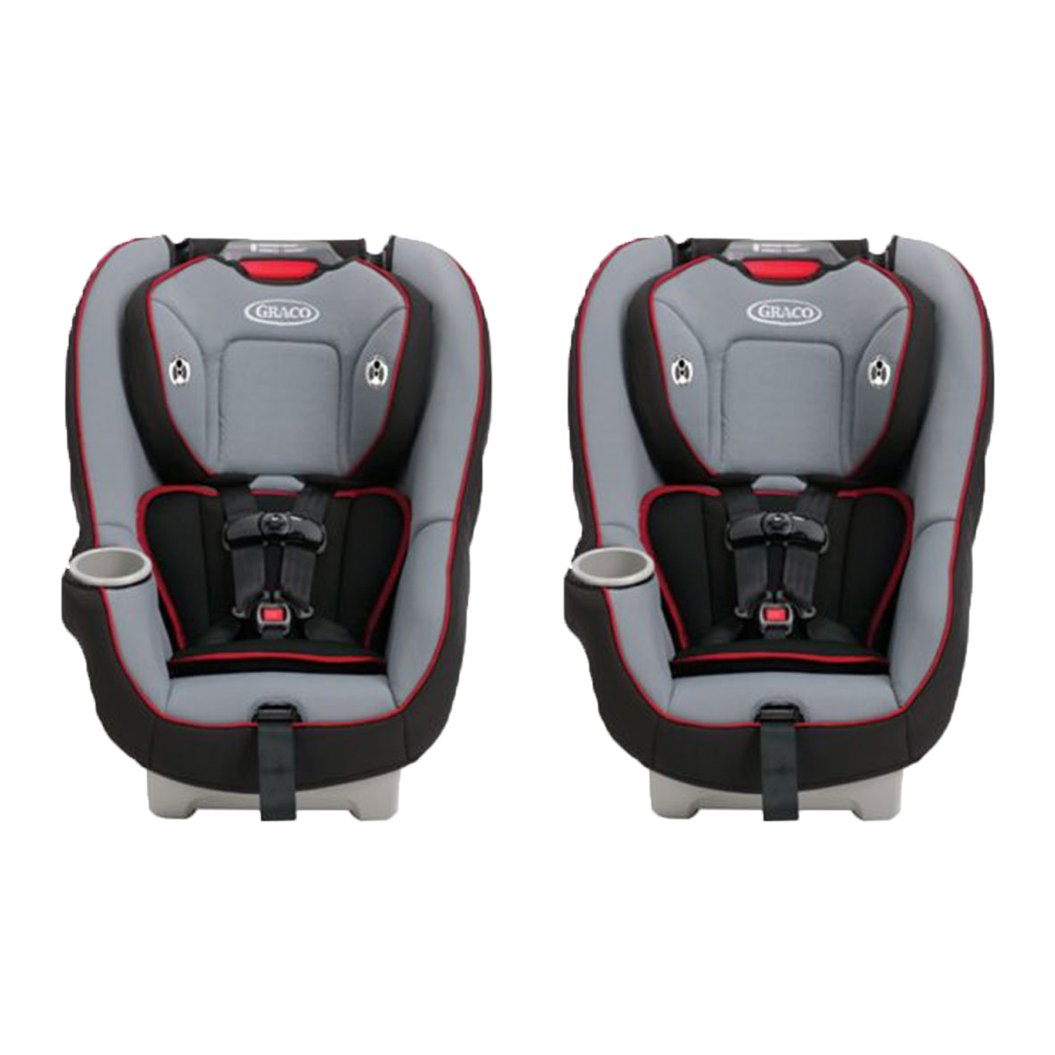 Graco 65 Convertible Baby Toddler Safety Car Seat Chair Carrier 2 Pack