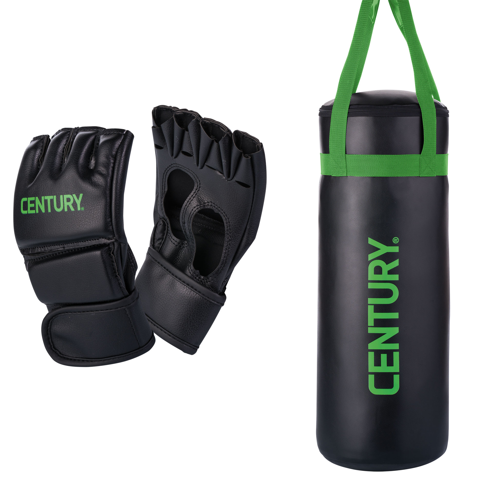 Century Martial Arts Youth Boxing MMA Training Bag and Kid Glove Combo Set ceffbf1a0d15a