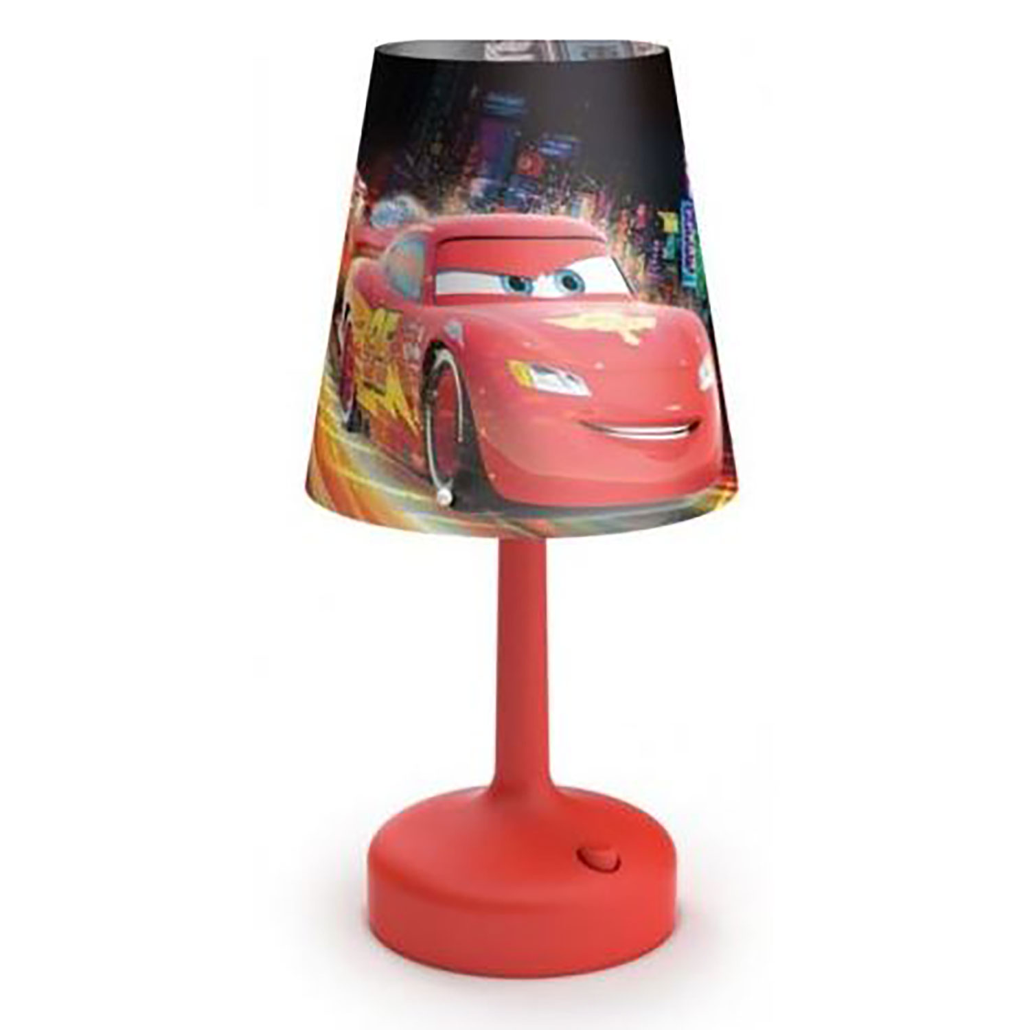 Philips disney cars indoor portable 10 inch kids table for 10 inch table lamp