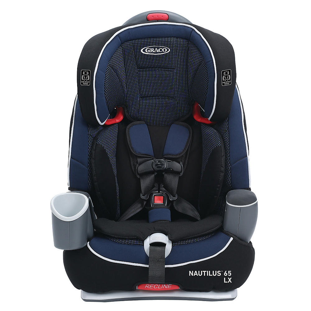 graco nautilus 65 lx 3 in 1 harness highback backless booster seat royalty 47406134854 ebay. Black Bedroom Furniture Sets. Home Design Ideas