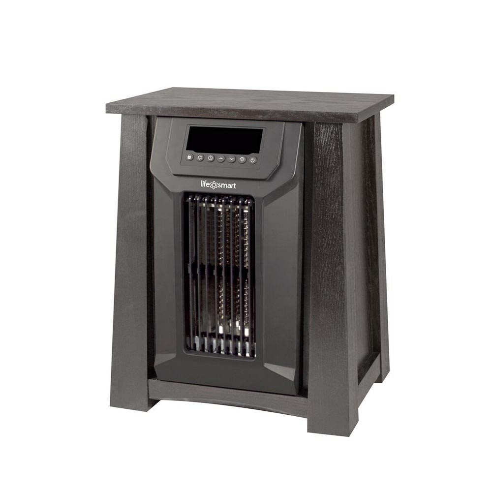 Lifesmart 6 element infrared quartz electric portable for Small room quartz heater