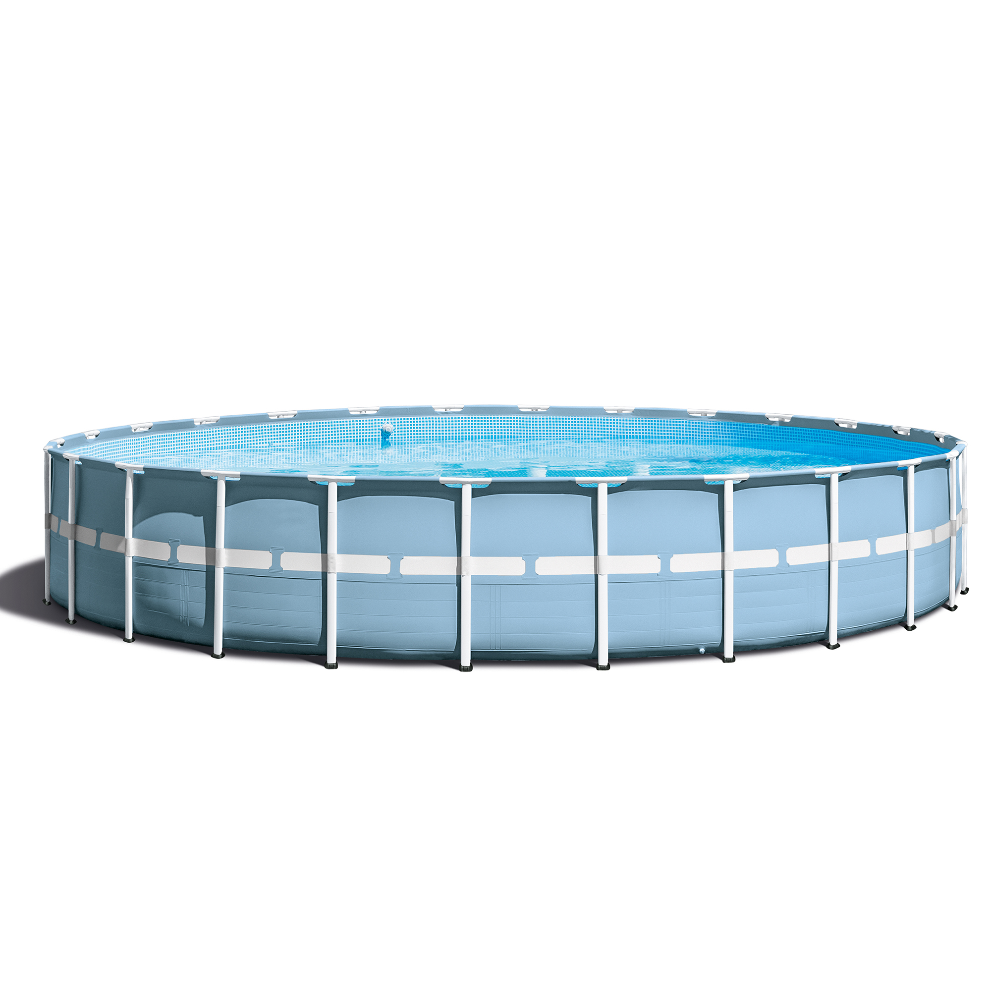 Intex 24 39 x 52 prism frame pool set w ladder cover for Billige pool sets