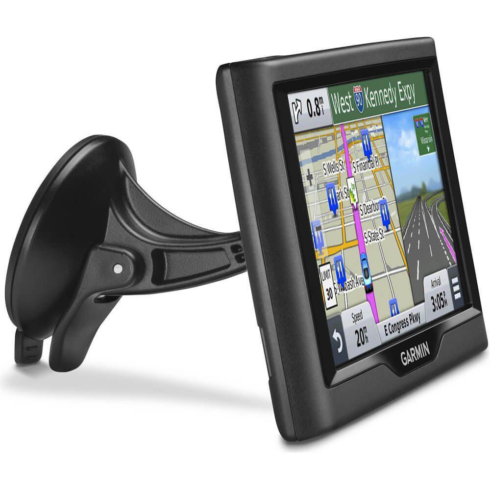 Smallest Vehicle Navigation System : Garmin nuvi lm inch vehicle gps navigation system