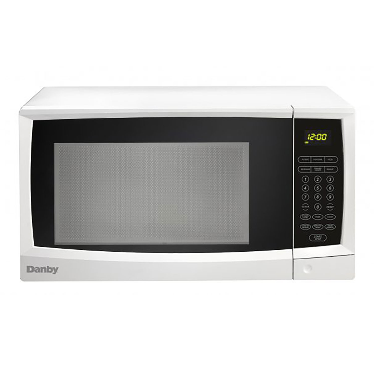 Danby 1 Cubic Feet 1000 Watt Compact Kitchen Counter Top Microwave Oven White