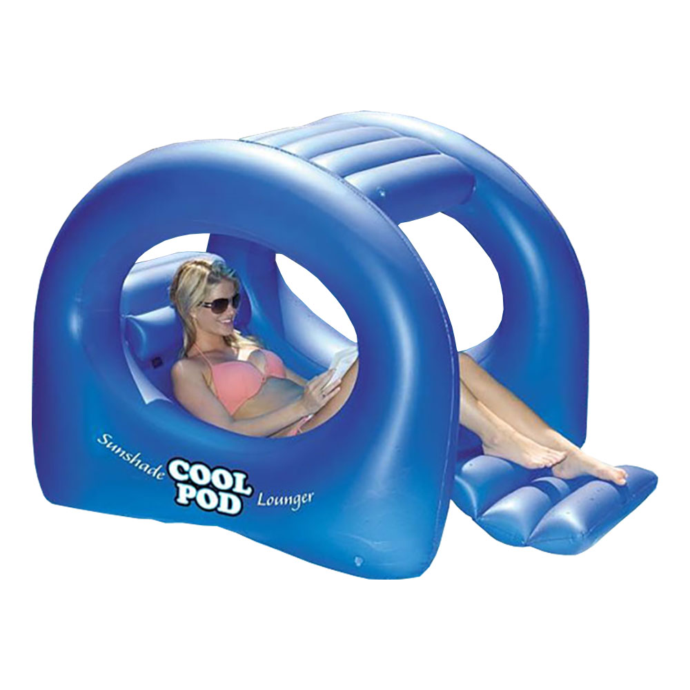 Swimline Sunshade Cool Pod Inflatable Swimming Pool Float