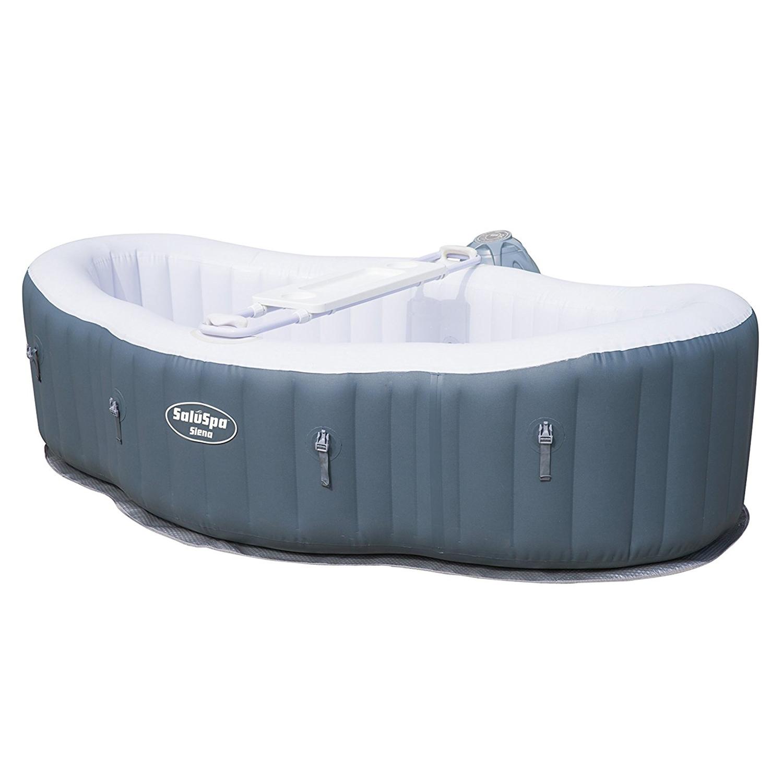 Bestway saluspa siena airjet 2 person 8 39 x 5 39 x 2 for Bestway portable pool