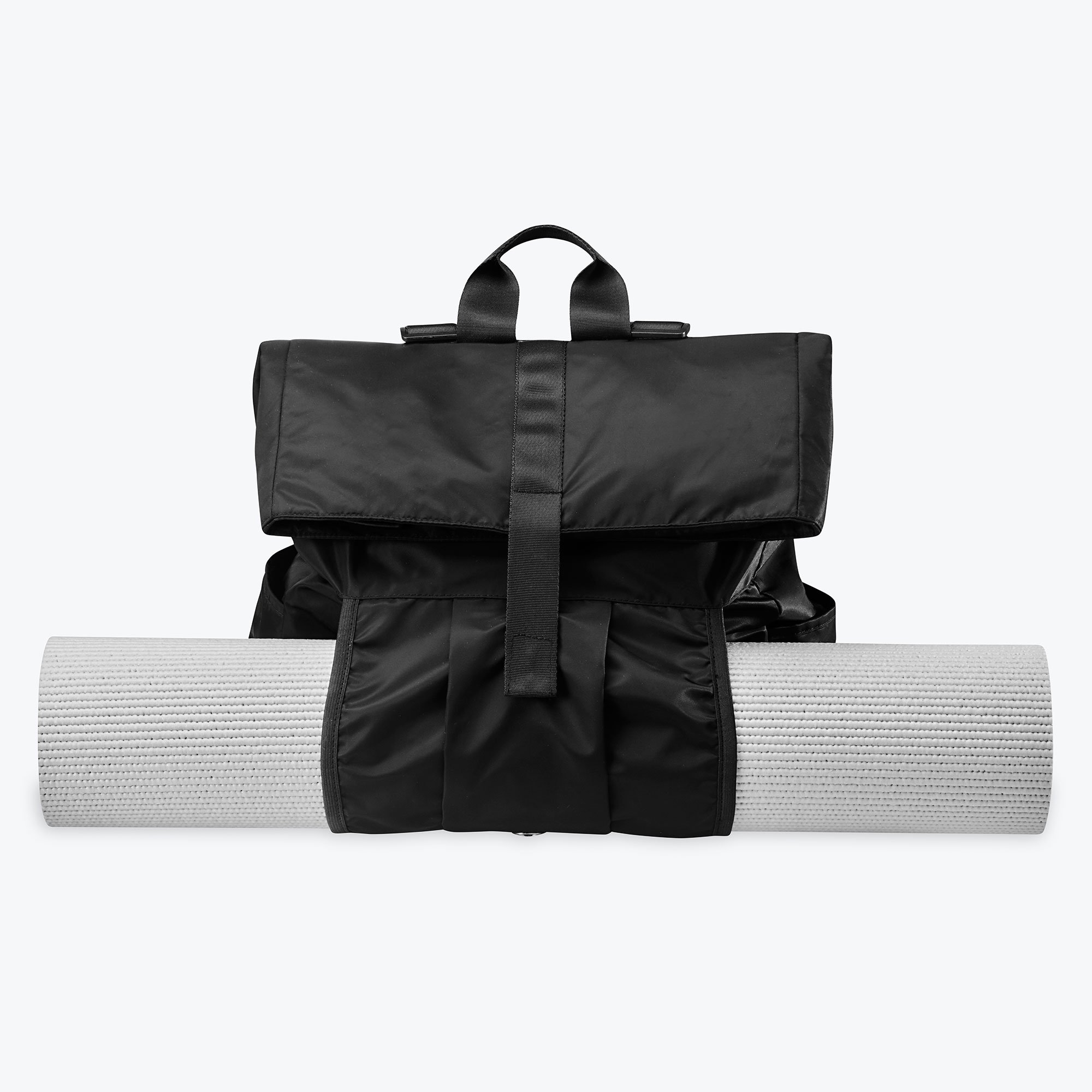 Gaiam Hold Everything Pilates Yoga Mat Fitness Carry