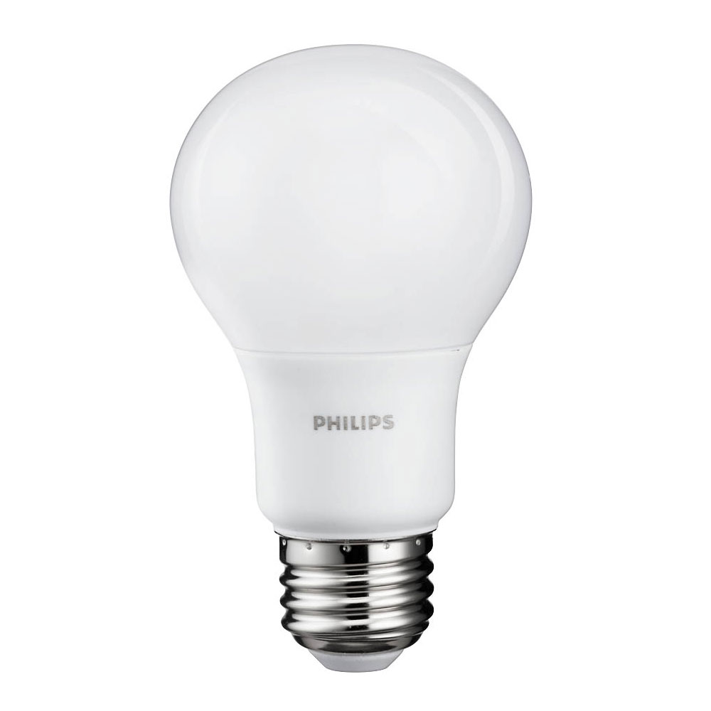philips 8 watt a19 60 watt replacement 800 lumen daylight led light bulb 2 pack ebay. Black Bedroom Furniture Sets. Home Design Ideas