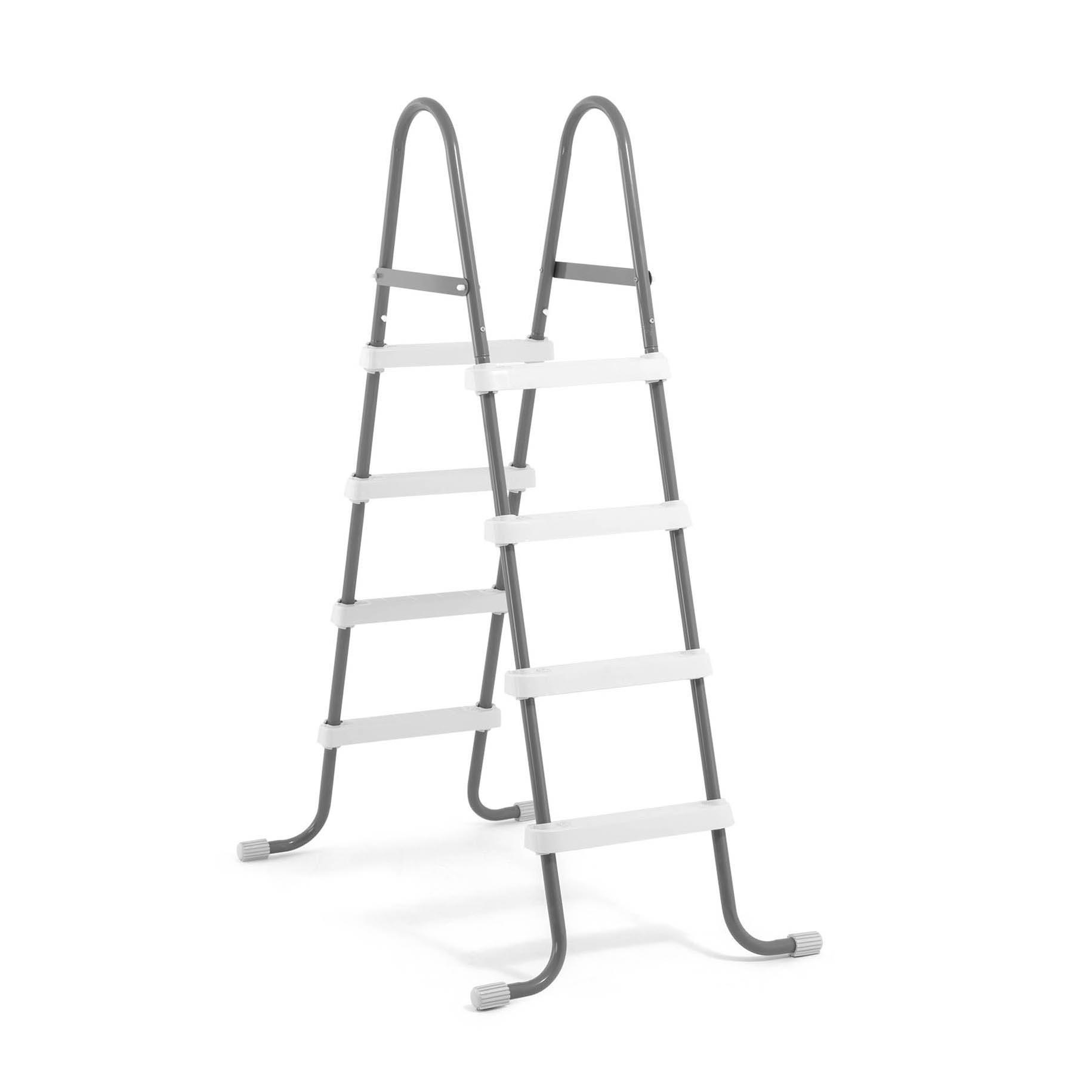 Intex Steel Frame Above Ground Swimming Pool Ladder for 48&#034 ...