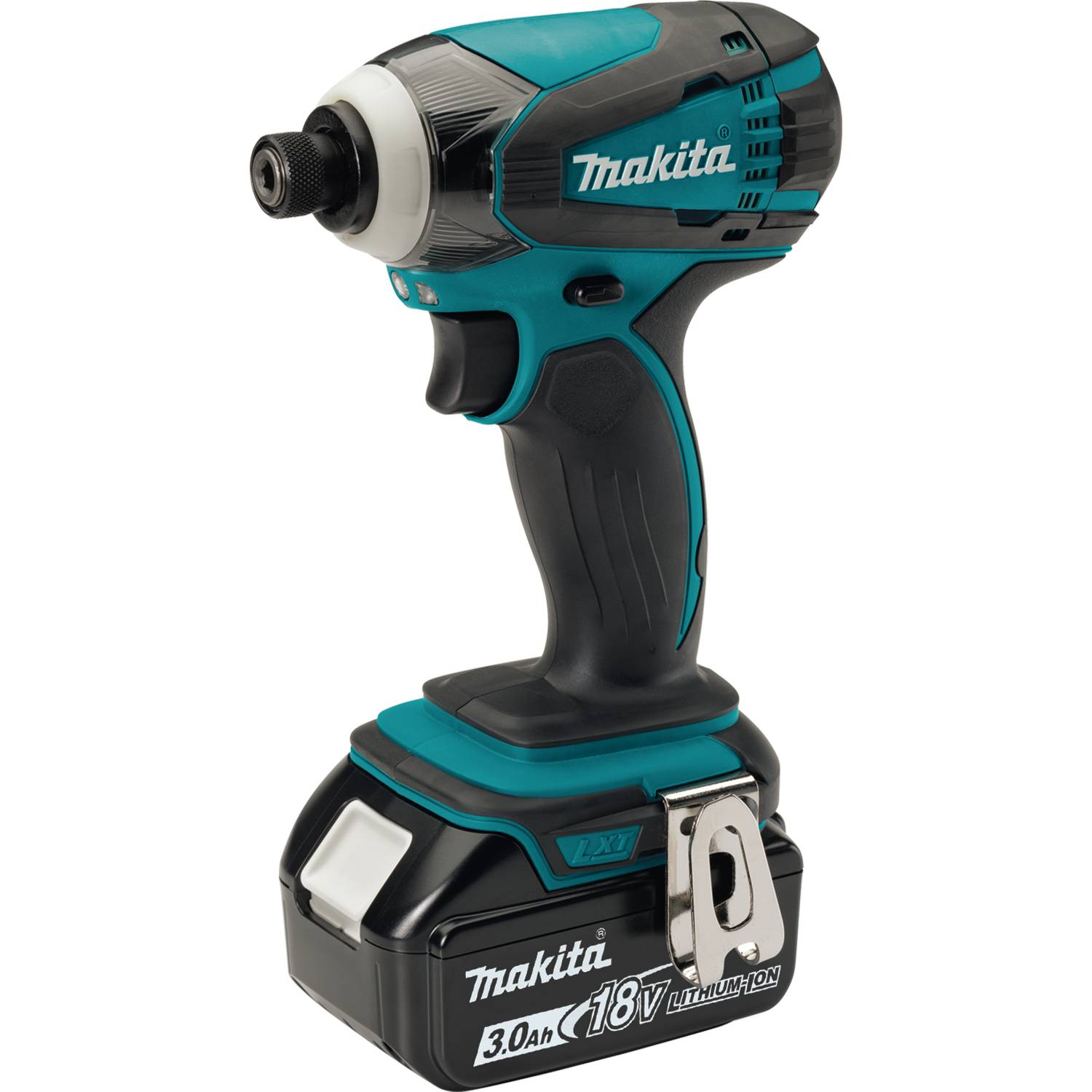 makita 18v lxt 3 0ah lithium ion cordless 4 piece combo kit with battery xt407 ebay. Black Bedroom Furniture Sets. Home Design Ideas