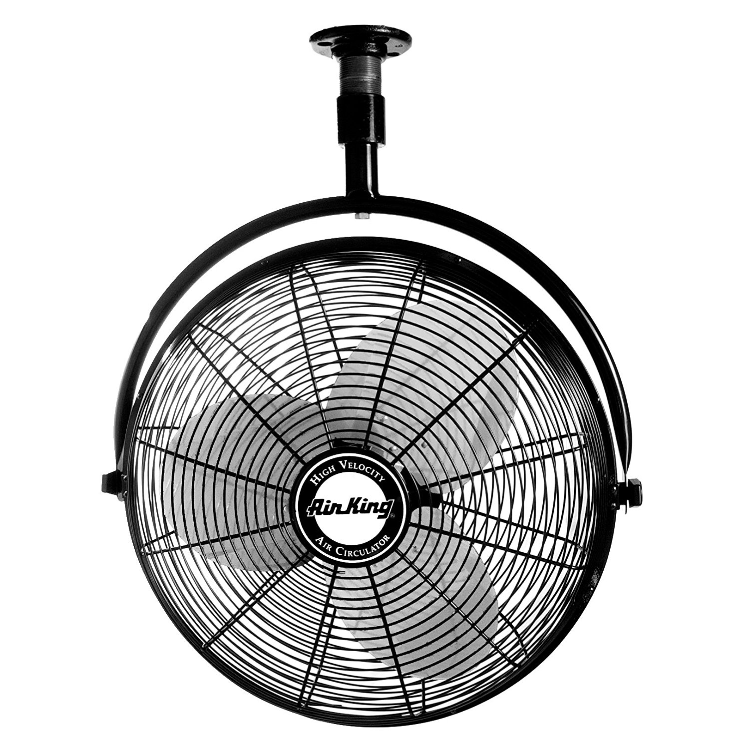 """Air King 20"""" 1 6 HP 3 Speed Totally Enclosed Non Oscillating"""