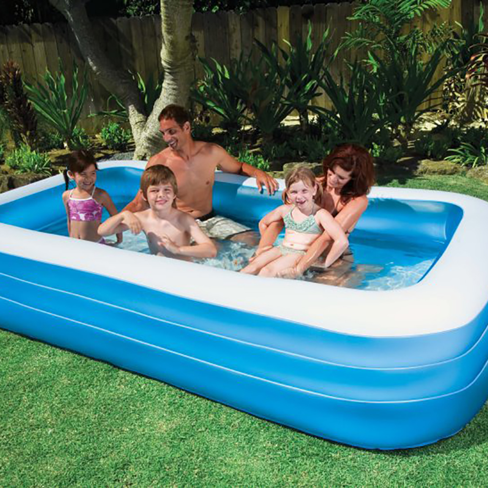 Intex swim center family 72 x 120 inch swimming pool and for Quick up pool 120 hoch