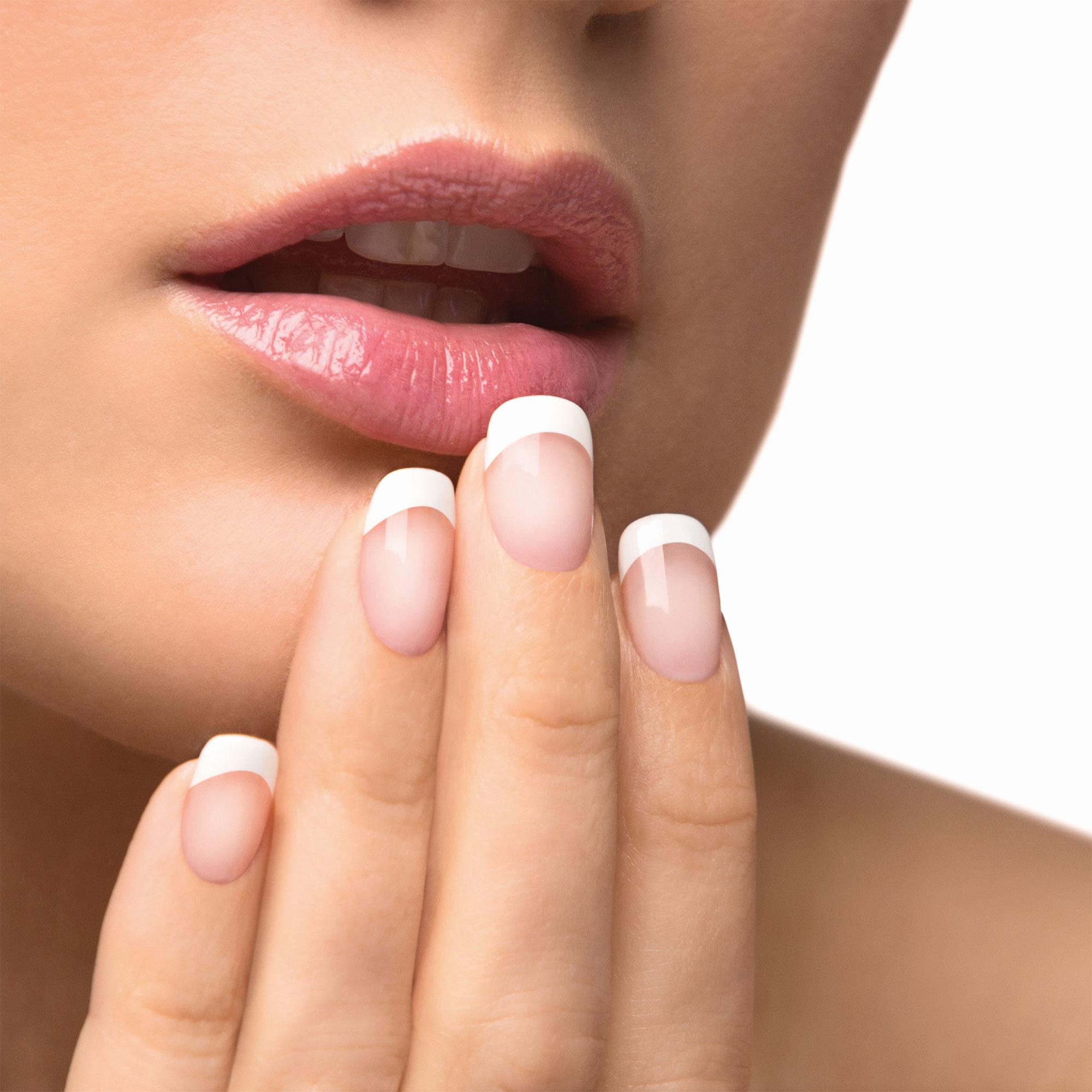 Gelish Soak Off French Tip Acrylic Powder Nail Polish Dip System ...